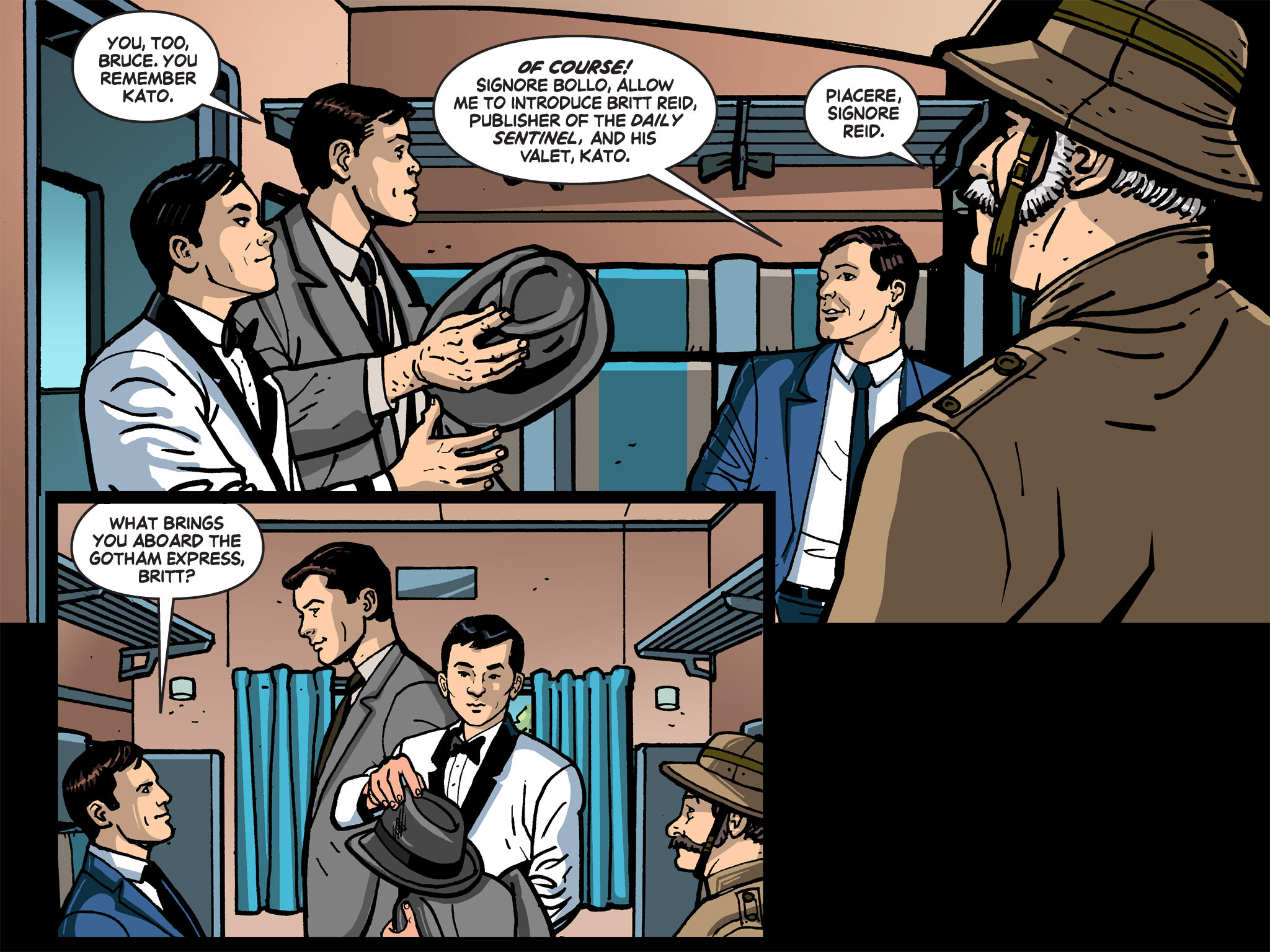 Read online Batman '66 Meets the Green Hornet [II] comic -  Issue #1 - 44
