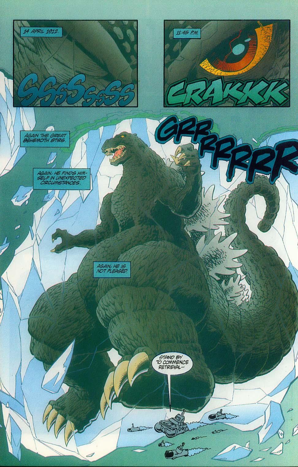 Godzilla (1995) Issue #11 #12 - English 6