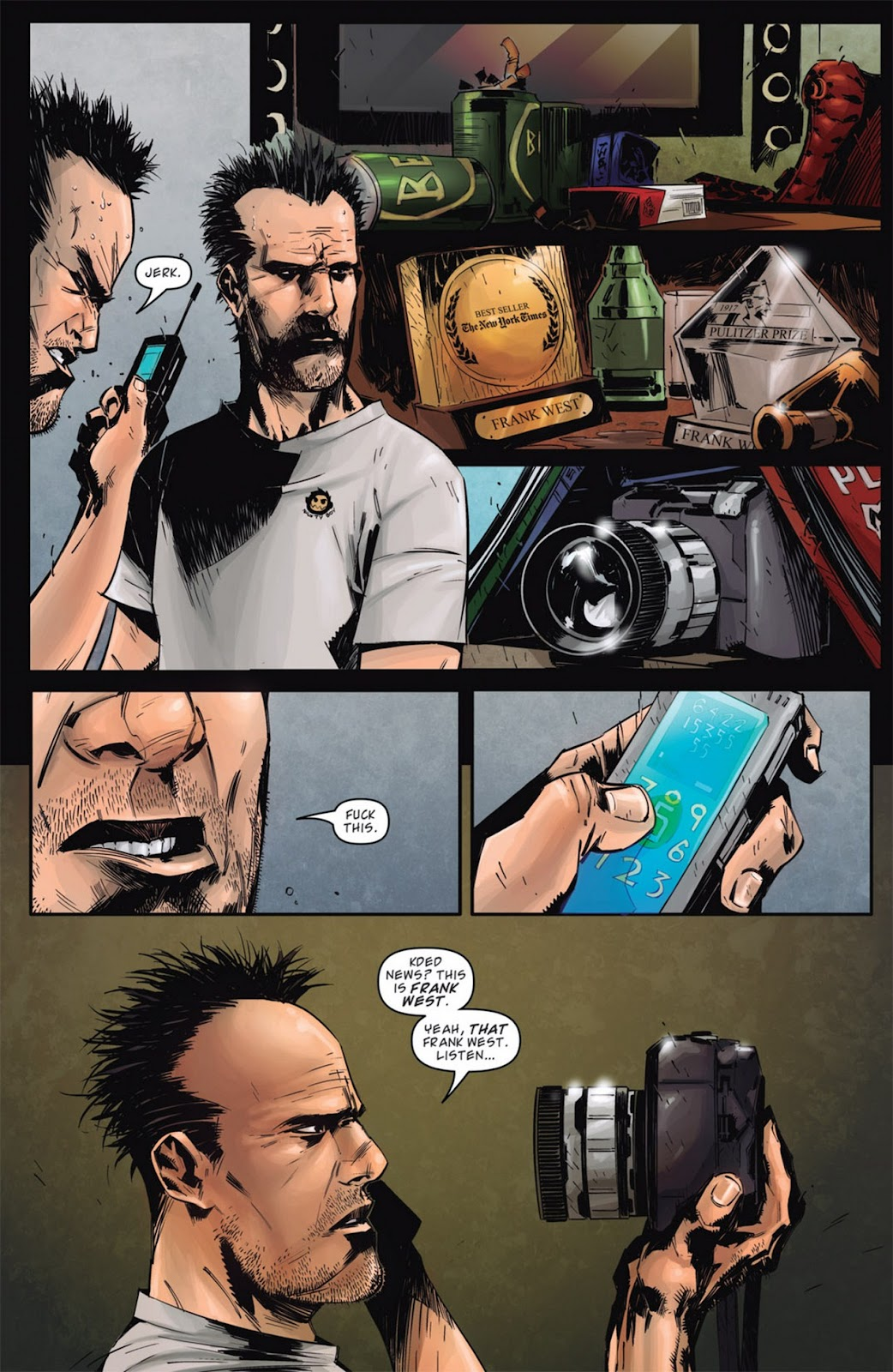 Read online Dead Rising: Road to Fortune comic -  Issue #1 - 22