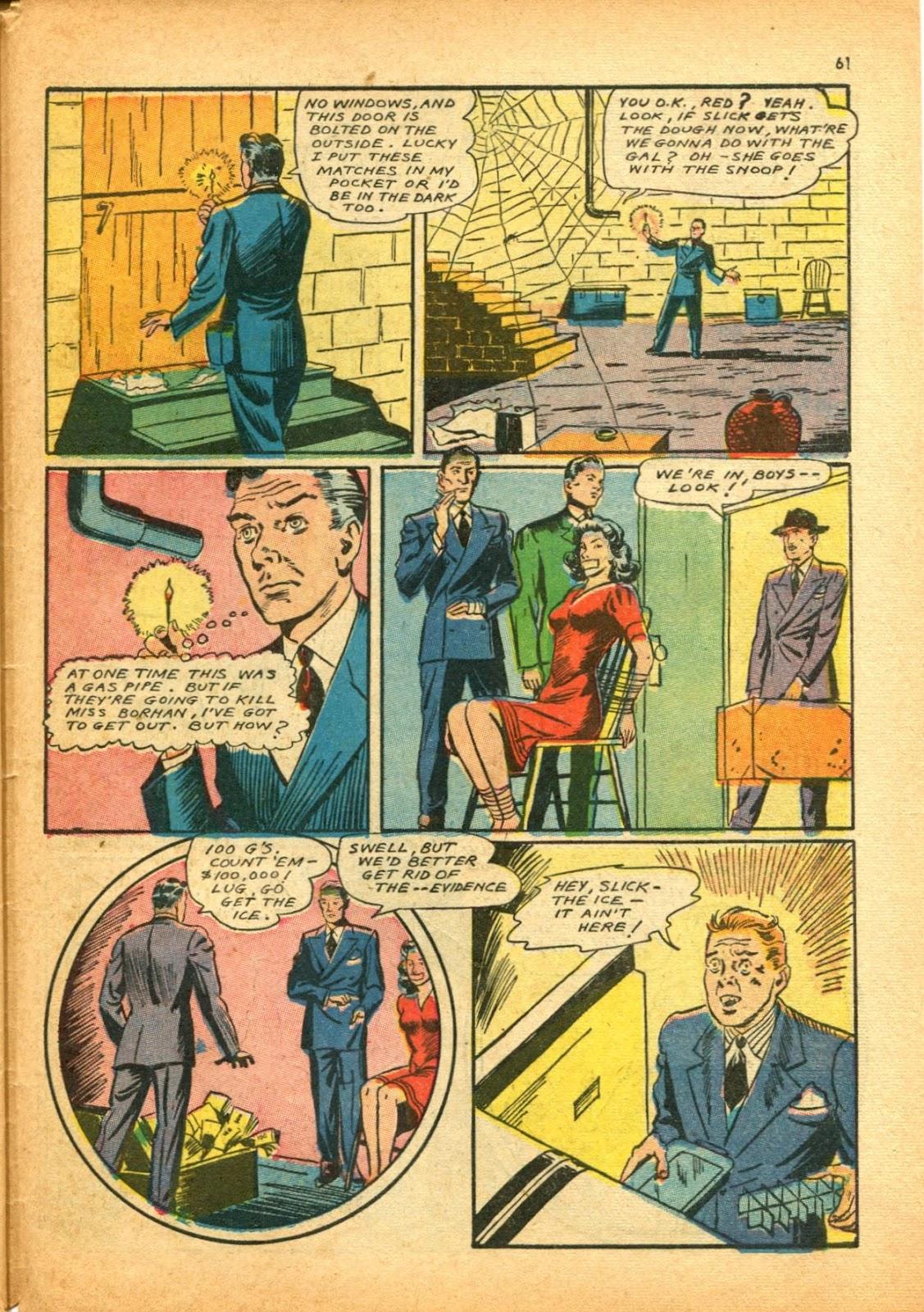 Read online Super-Magician Comics comic -  Issue #12 - 61