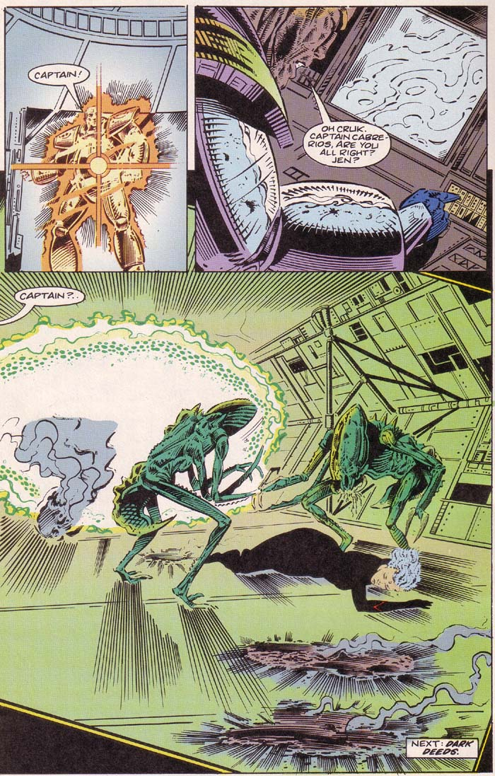 Read online Cyberspace 3000 comic -  Issue #2 - 21