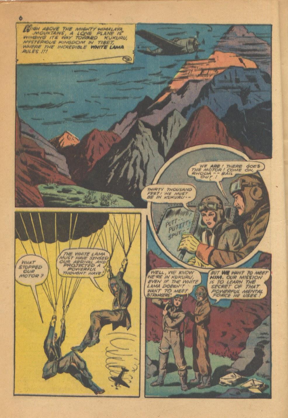 Read online Super-Magician Comics comic -  Issue #13 - 6