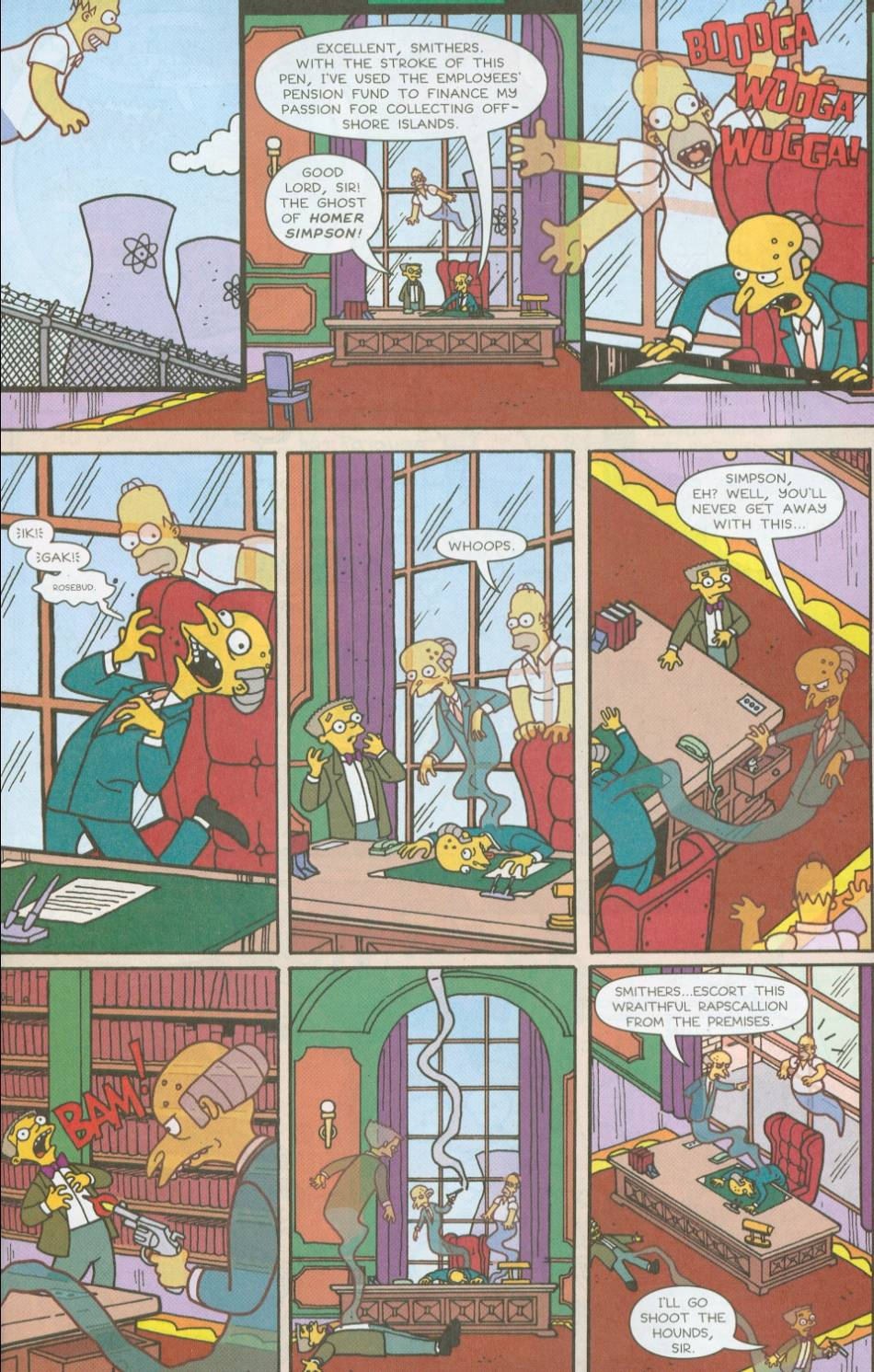 Read online Treehouse of Horror comic -  Issue #8 - 12