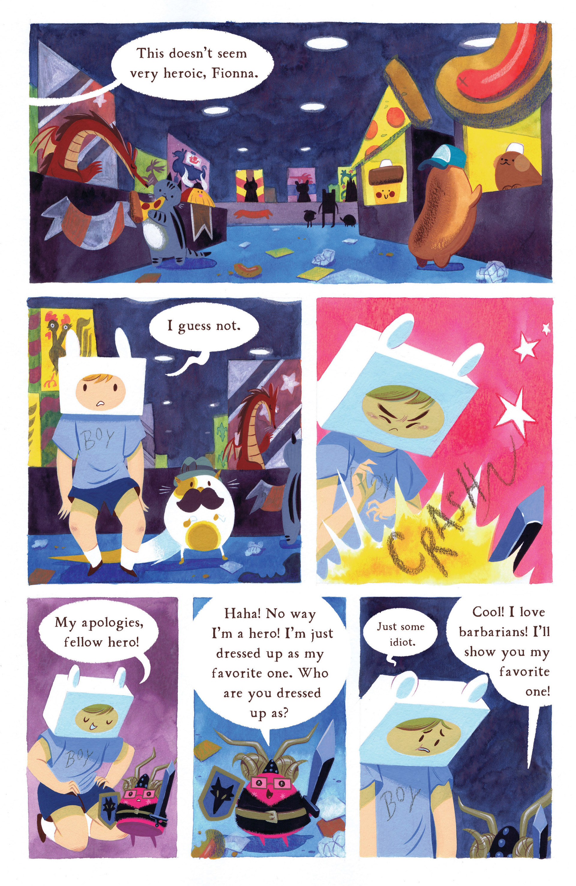Read online Adventure Time 2013 Summer Special comic -  Issue #Adventure Time 2013 Summer Special Full - 32