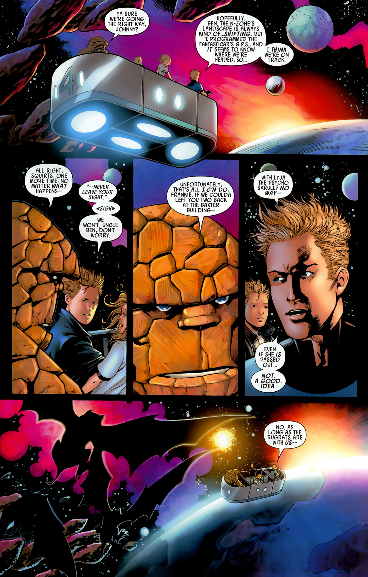 Read online Secret Invasion: Fantastic Four comic -  Issue #3 - 4