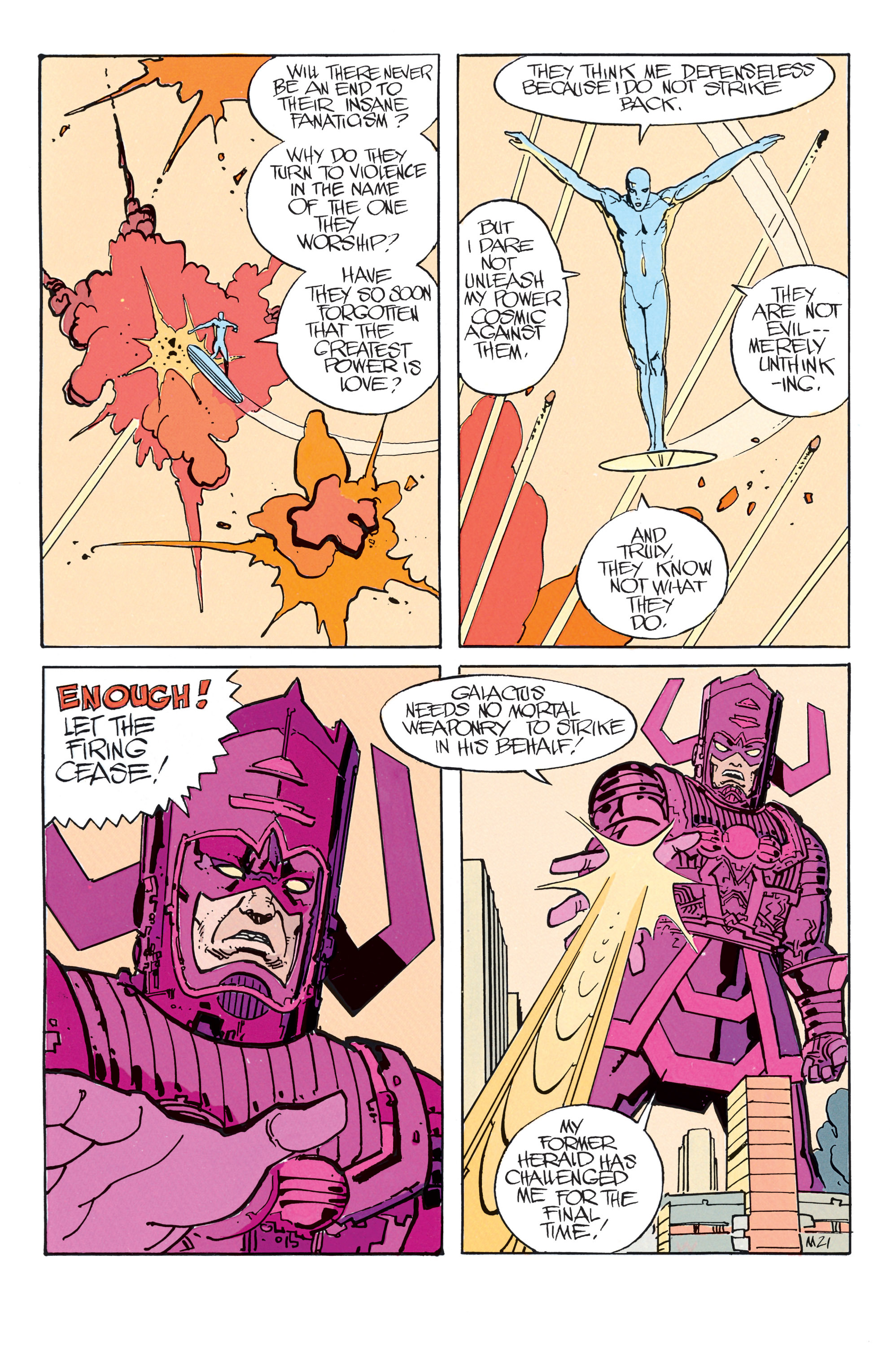 Read online Silver Surfer: Parable comic -  Issue # TPB - 27