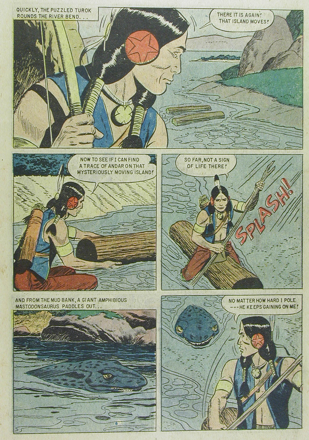 Read online Turok, Son of Stone comic -  Issue #13 - 11