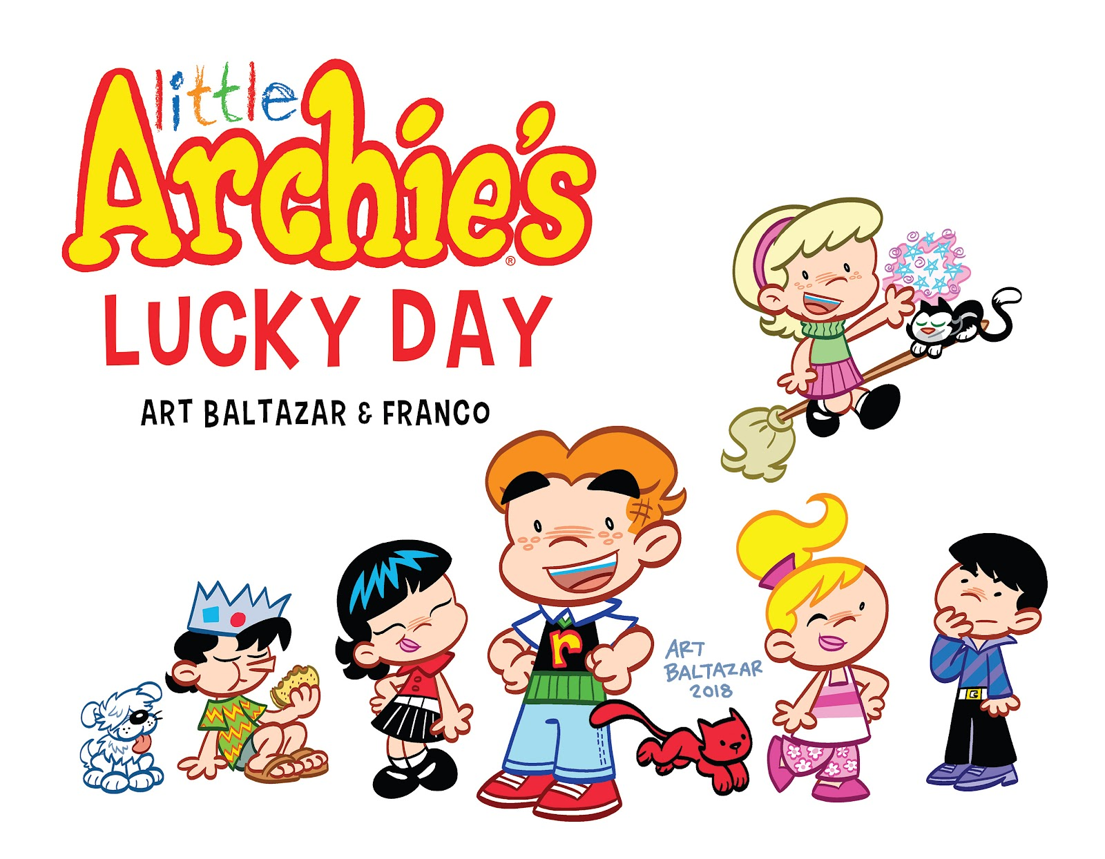 Read online Little Archie's Lucky Day comic -  Issue # Full - 3