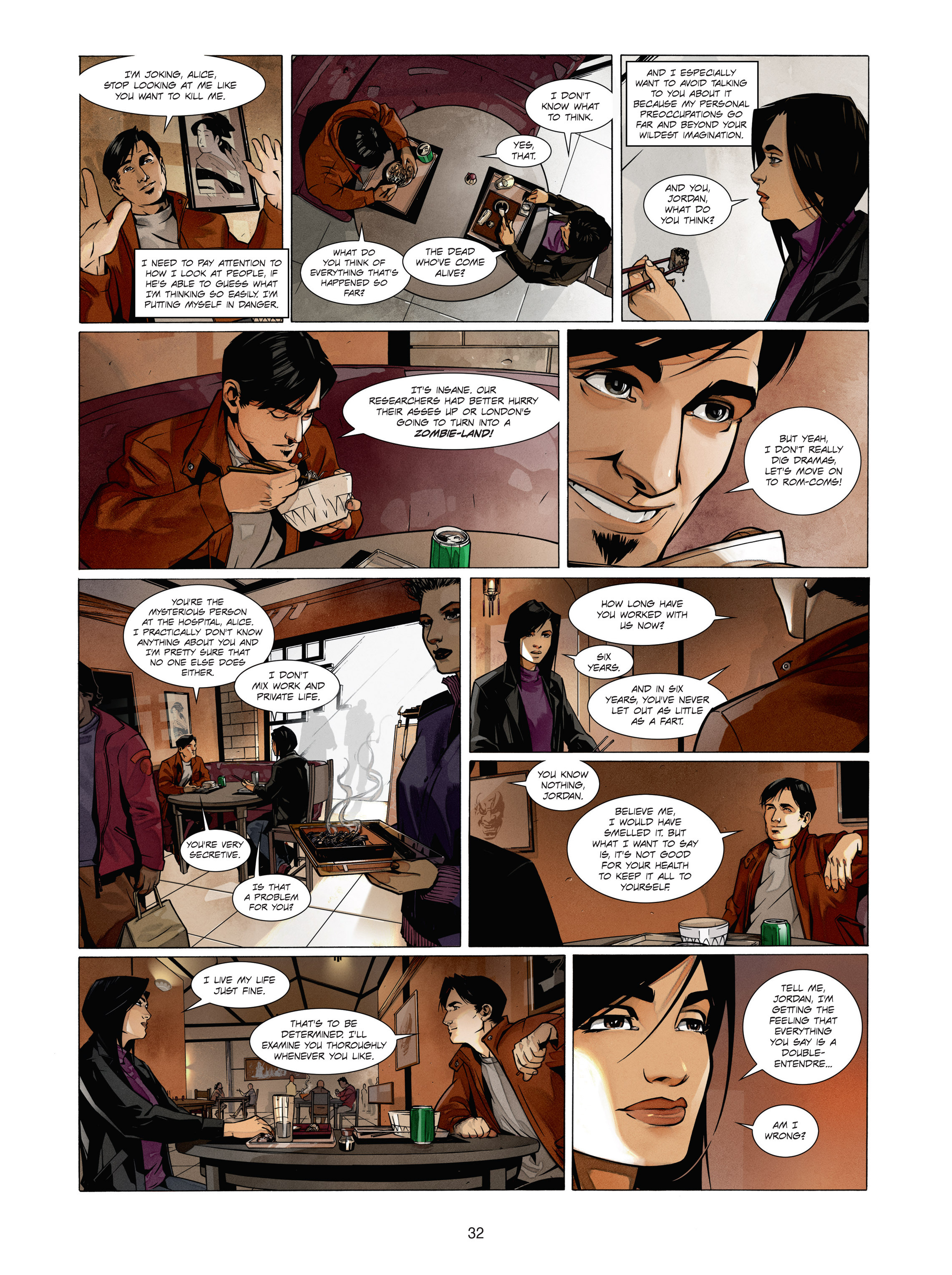 Read online Alice Matheson comic -  Issue #1 - 31