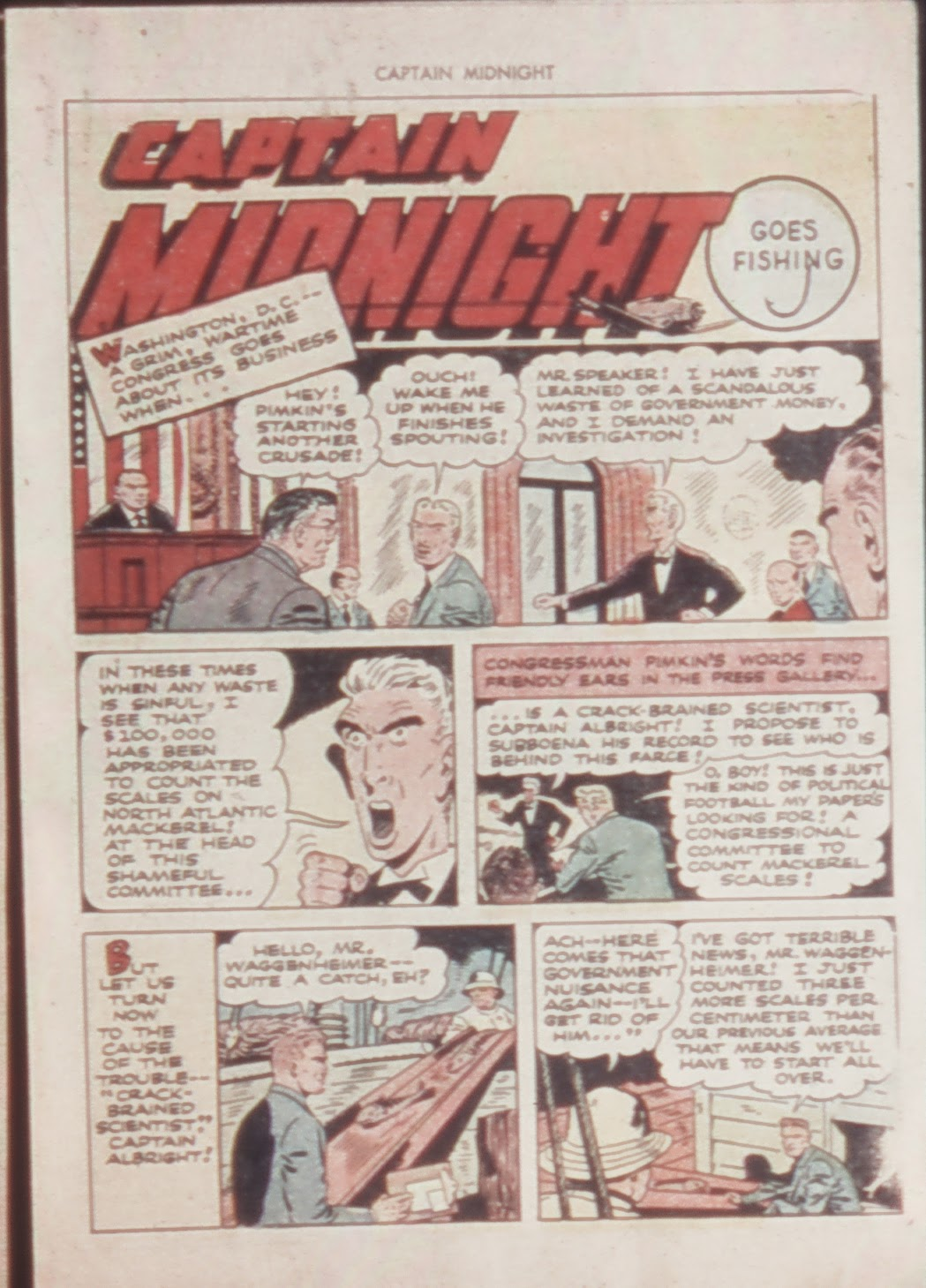 Captain Midnight (1942) issue 21 - Page 15