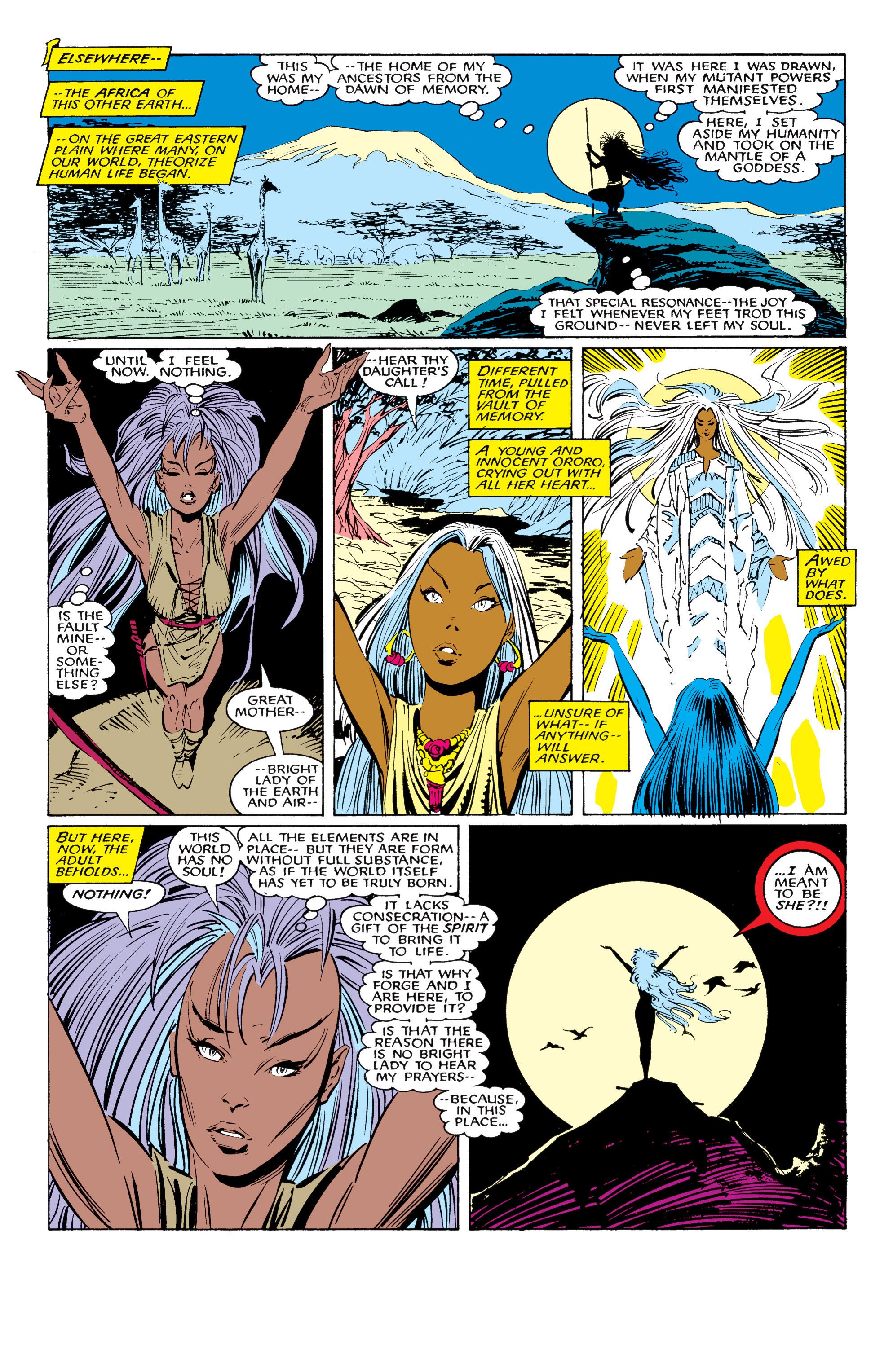 Read online Uncanny X-Men (1963) comic -  Issue #226 - 22