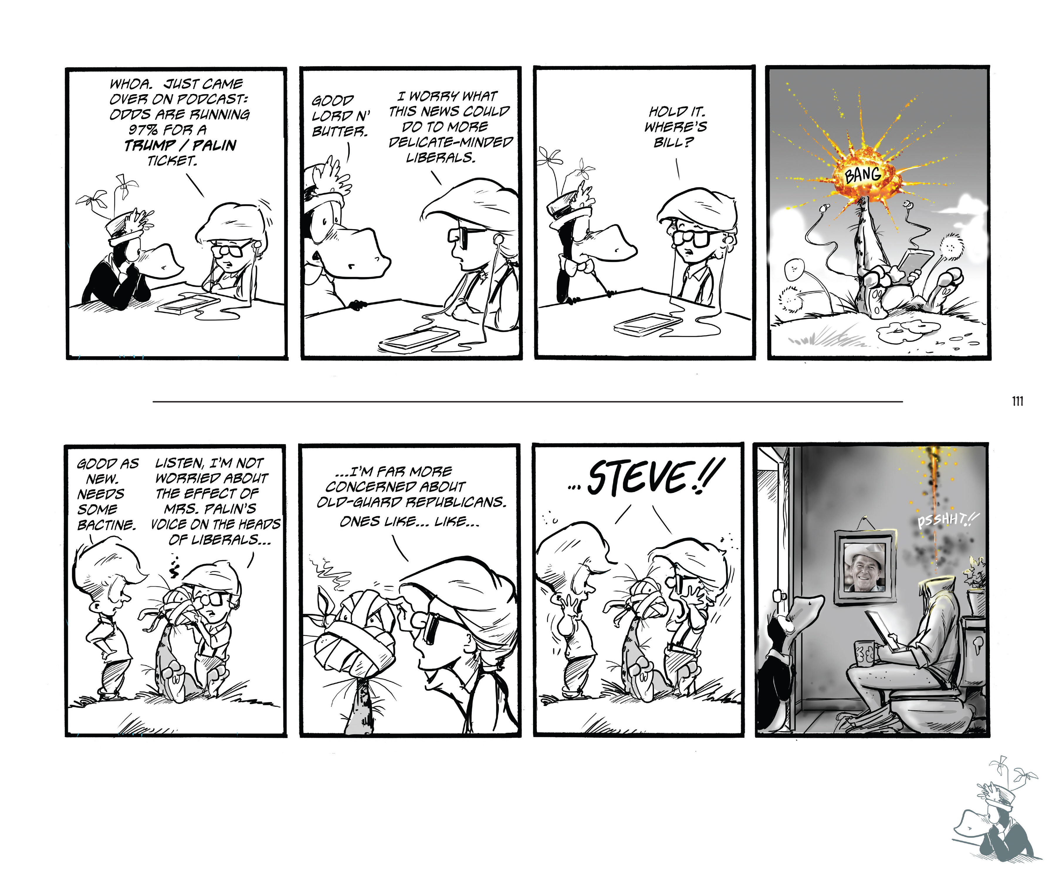 Read online Bloom County Episode XI: A New Hope comic -  Issue # Full - 113