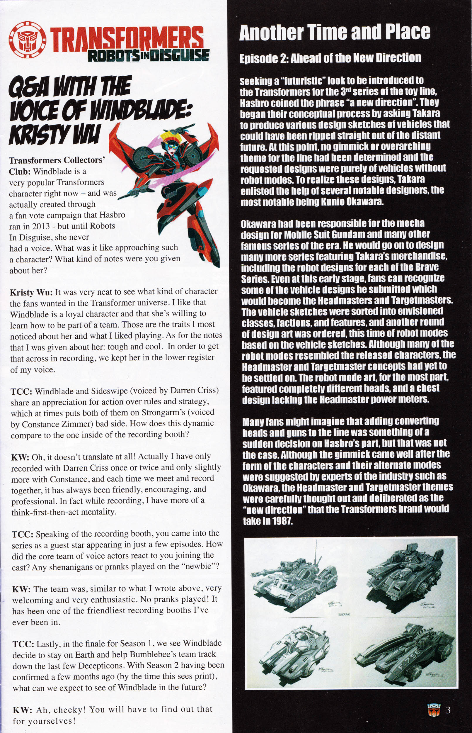 Read online Transformers: Collectors' Club comic -  Issue #66 - 3