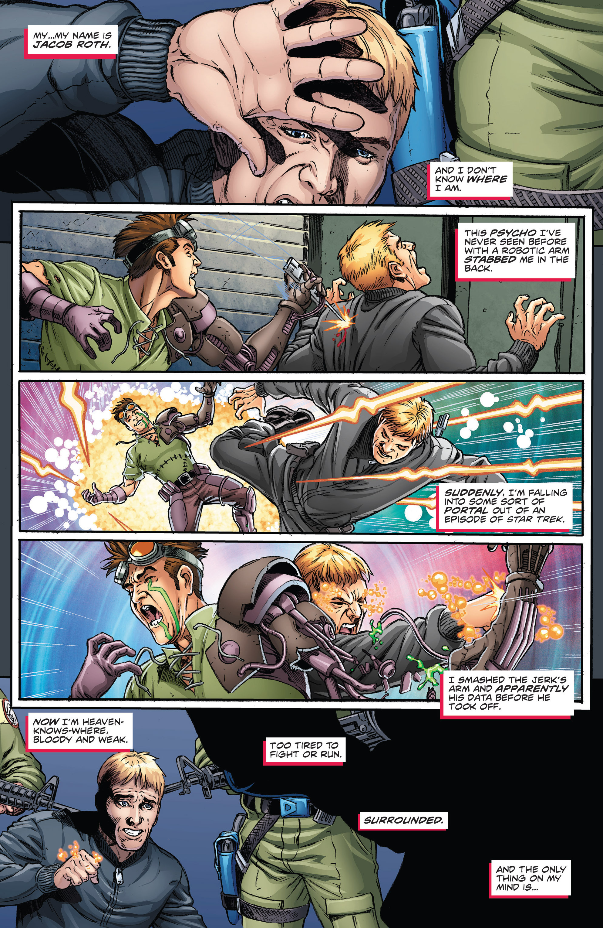 Read online Actionverse comic -  Issue #2 - 3