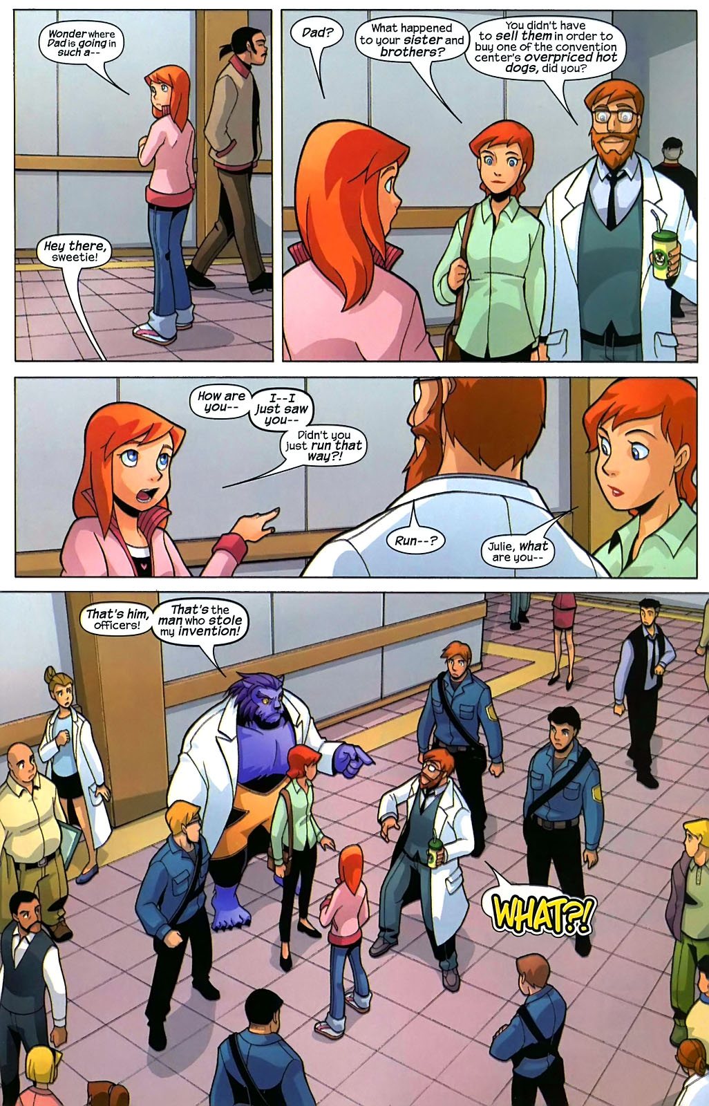 Read online X-Men and Power Pack comic -  Issue #2 - 12