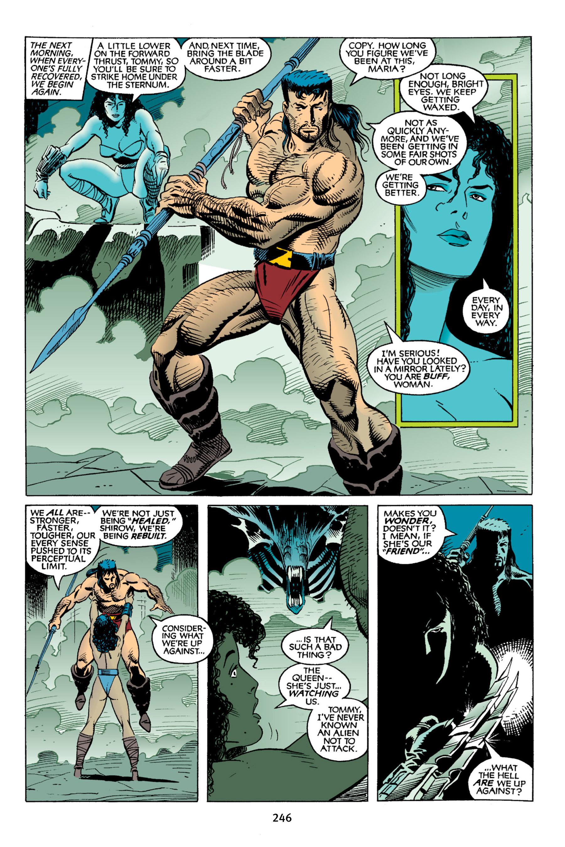 Read online Aliens vs. Predator Omnibus comic -  Issue # _TPB 2 Part 3 - 22