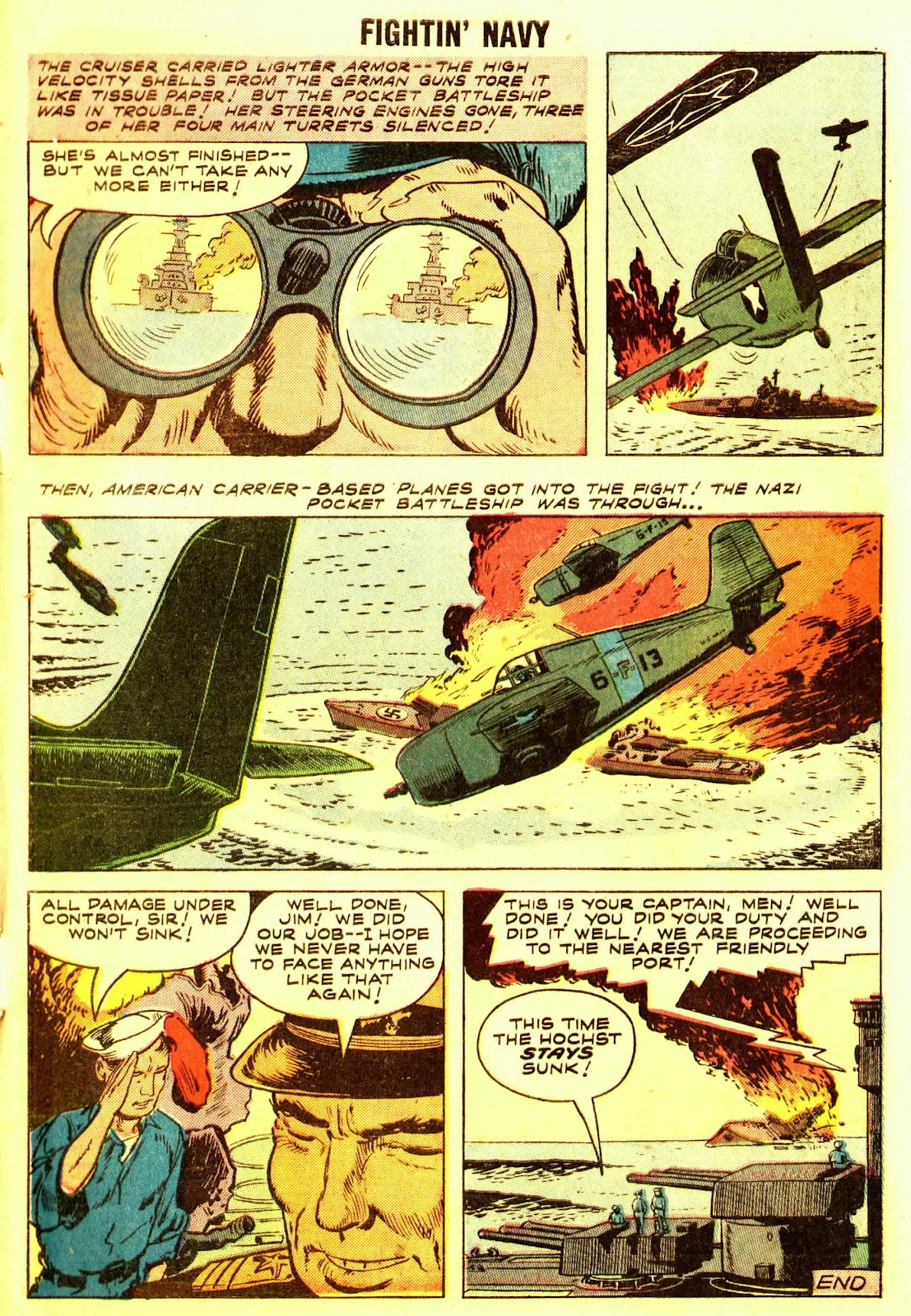 Read online Fightin' Navy comic -  Issue #83 - 9