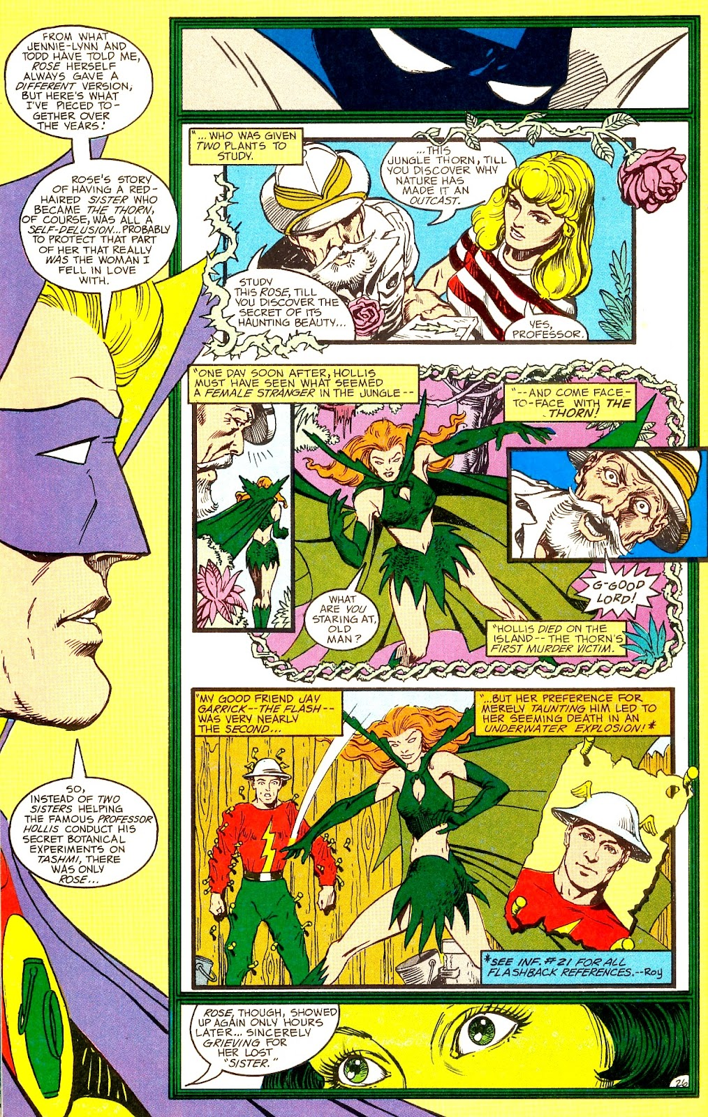 Infinity Inc. (1984) issue Annual 1 - Page 30