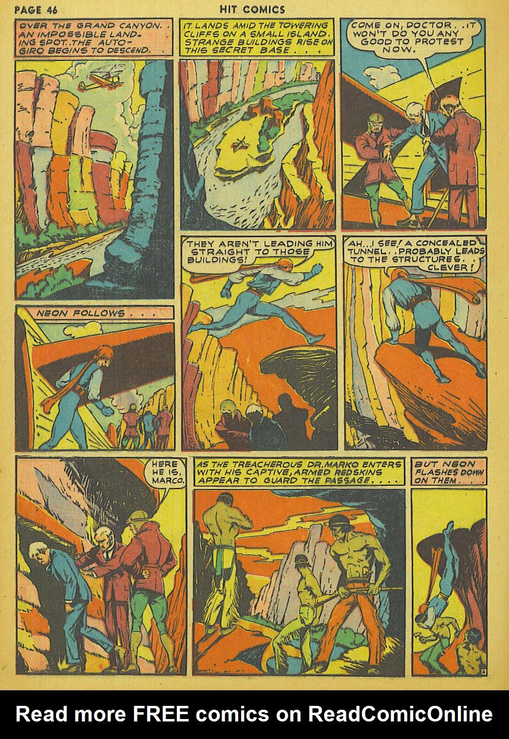 Read online Hit Comics comic -  Issue #13 - 48