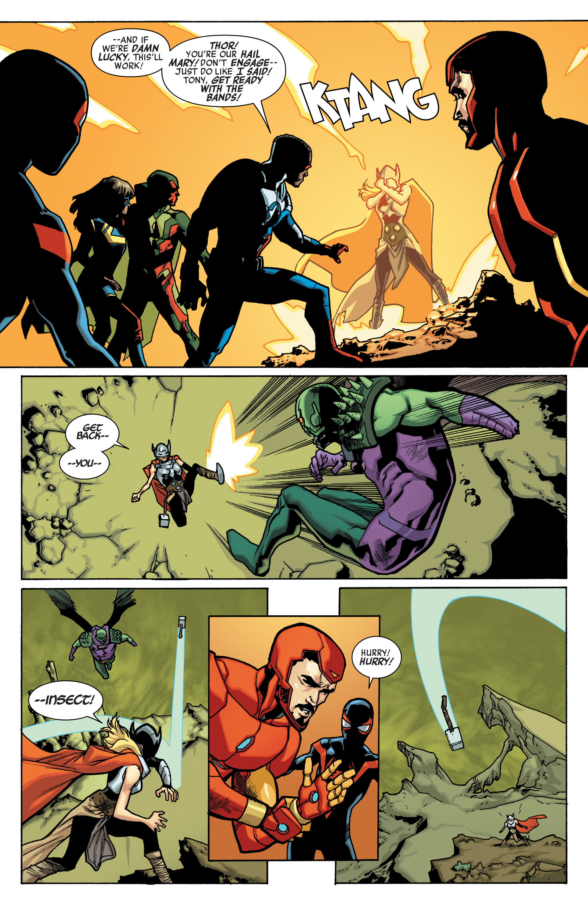 Read online All-New, All-Different Avengers comic -  Issue #12 - 17