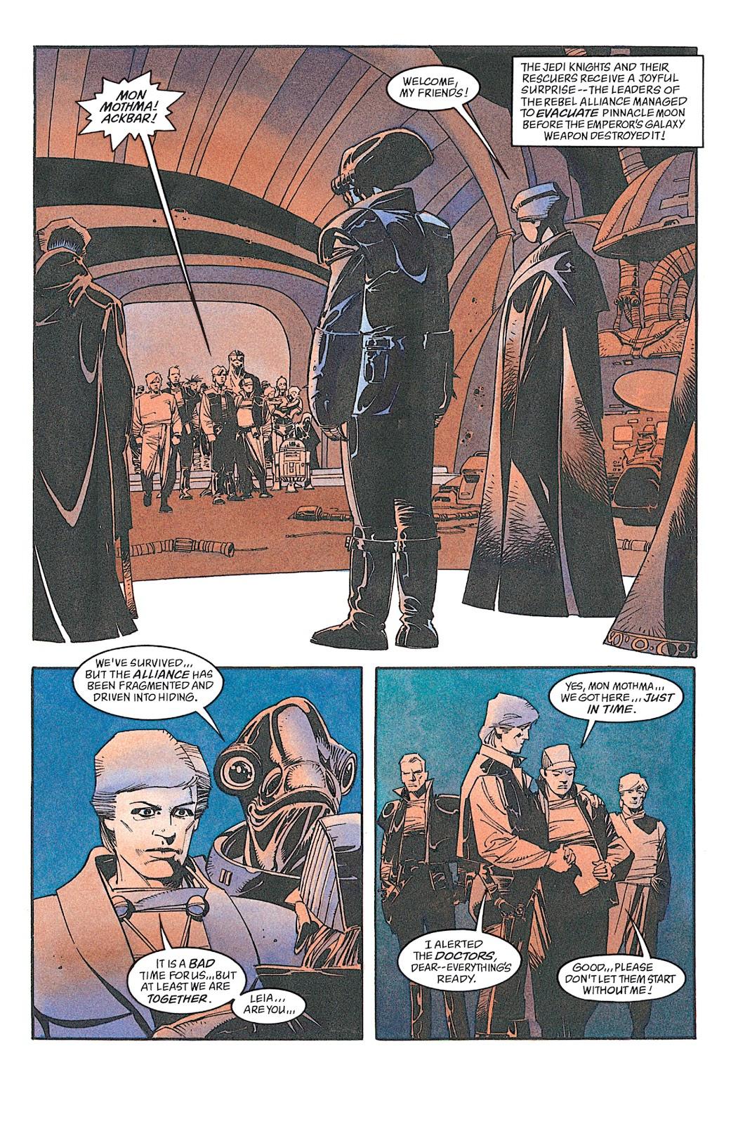 Read online Star Wars: Dark Empire Trilogy comic -  Issue # TPB (Part 4) - 4