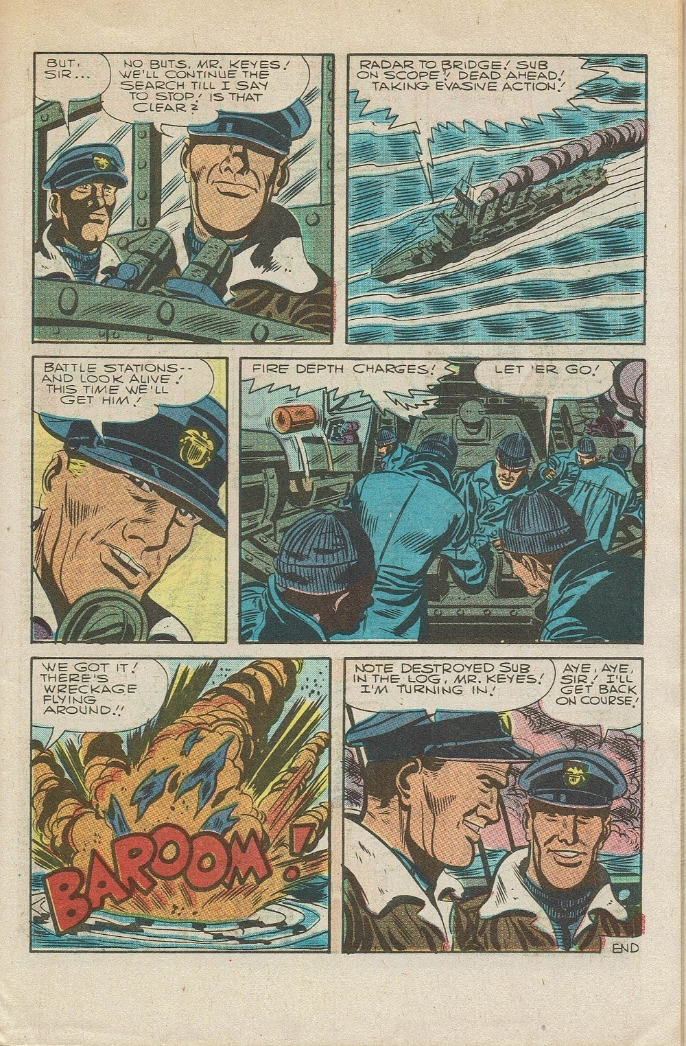 Read online Fightin' Navy comic -  Issue #126 - 9