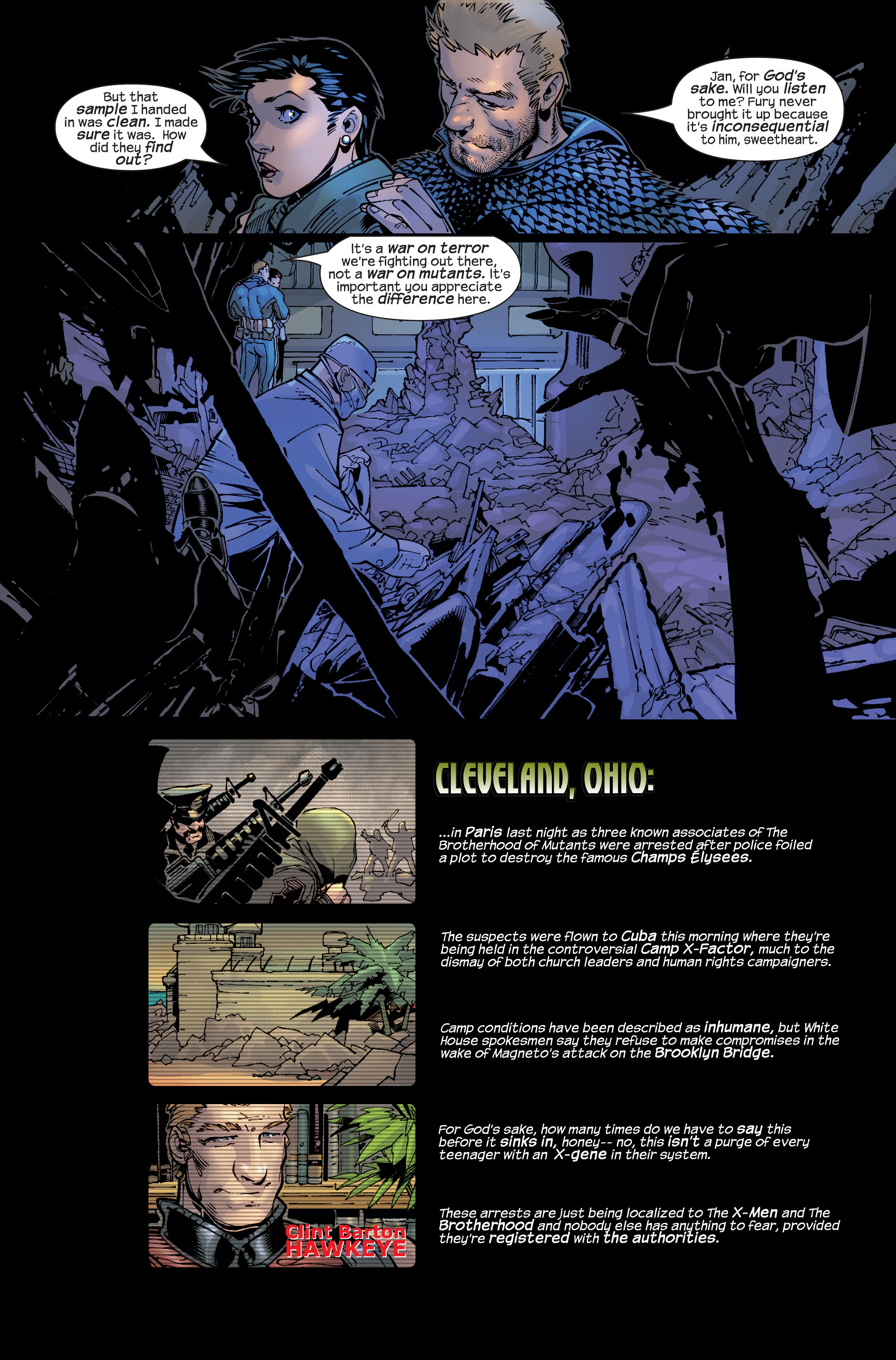 Read online Ultimate War comic -  Issue #3 - 10