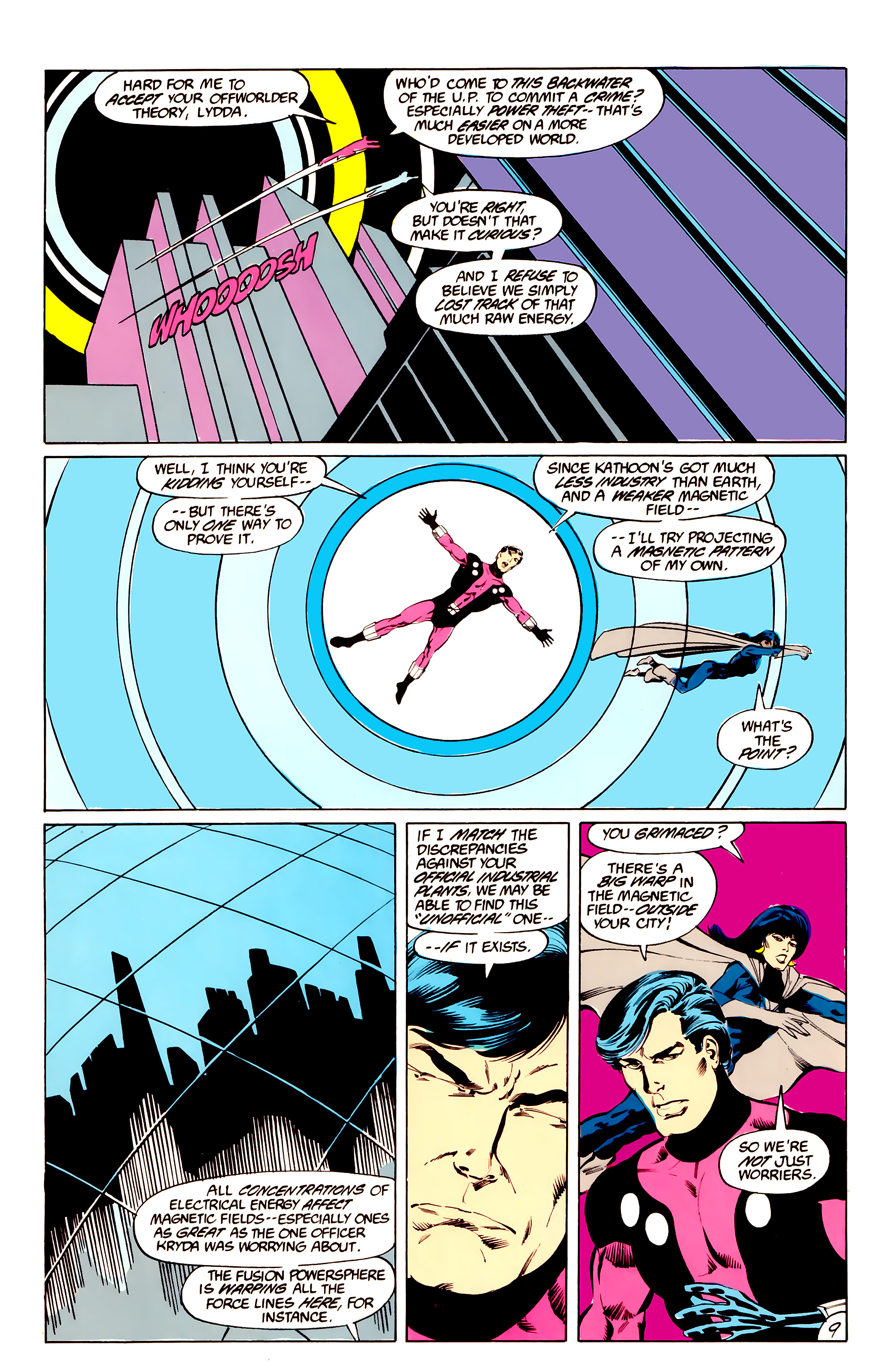 Legion of Super-Heroes (1984) _Annual_3 Page 9