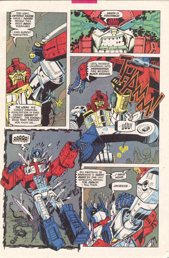Read online Transformers: Generation 2 comic -  Issue #3 - 5