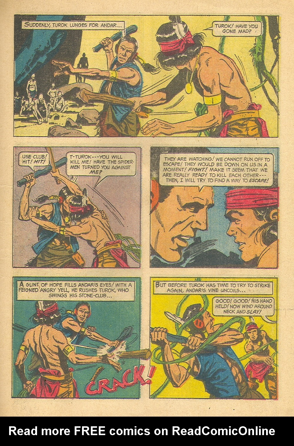 Read online Turok, Son of Stone comic -  Issue #39 - 25