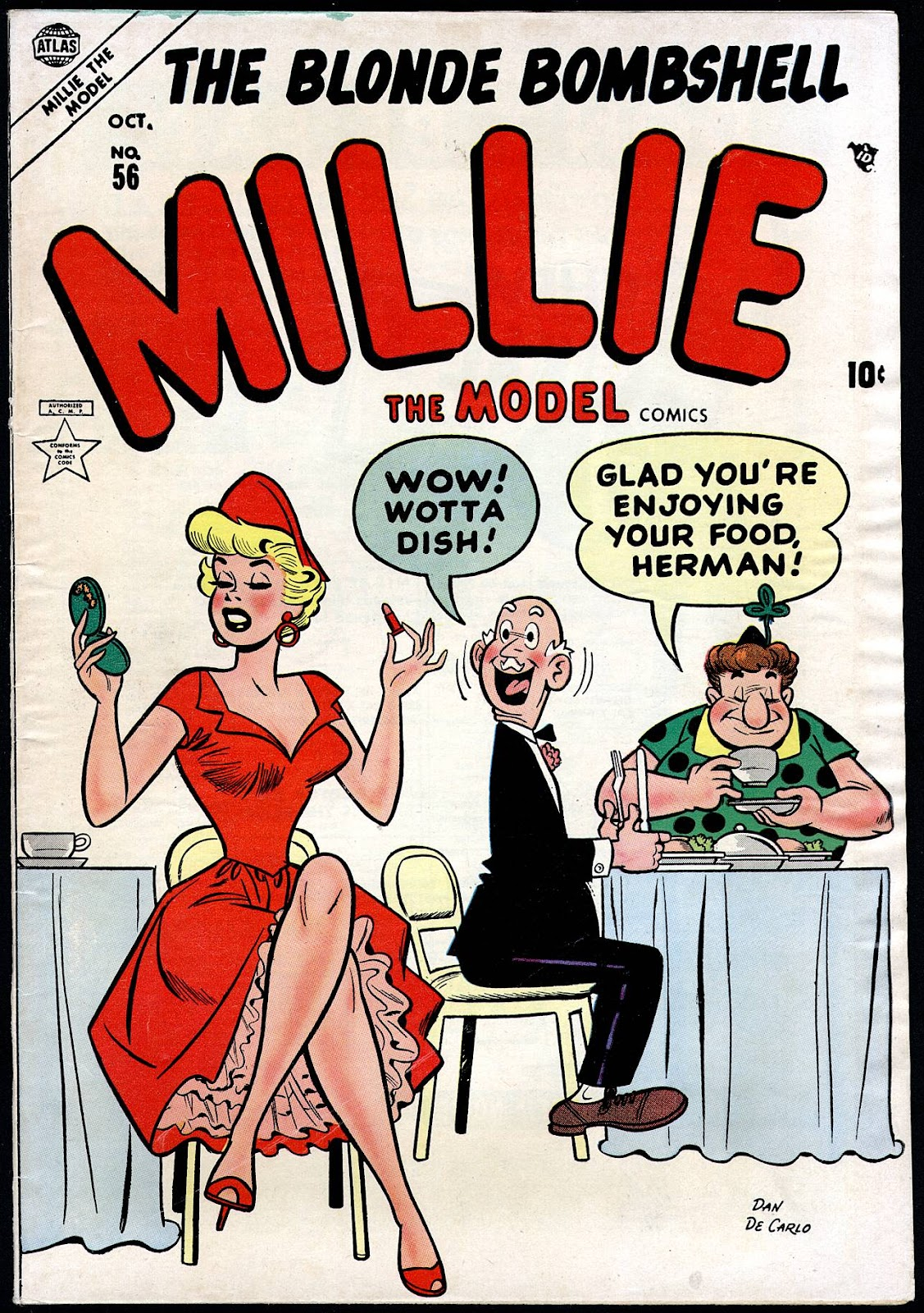 Millie the Model issue 56 - Page 1