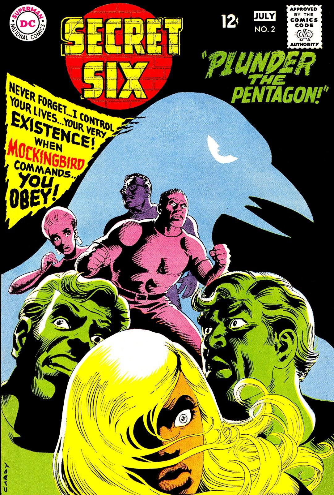 Secret Six (1968) 2 Page 1