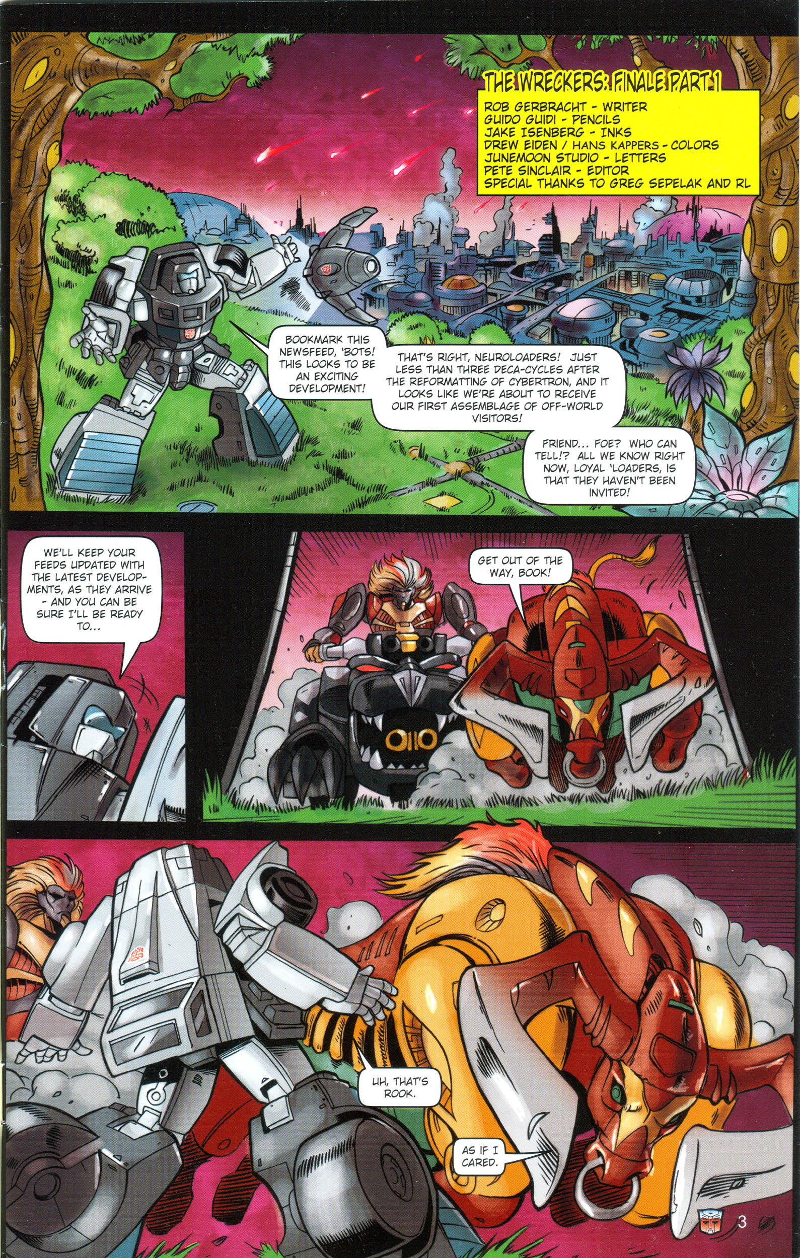 Read online Transformers: Collectors' Club comic -  Issue #16 - 3