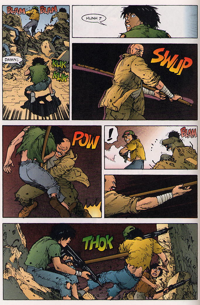 Read online Akira comic -  Issue #25 - 57