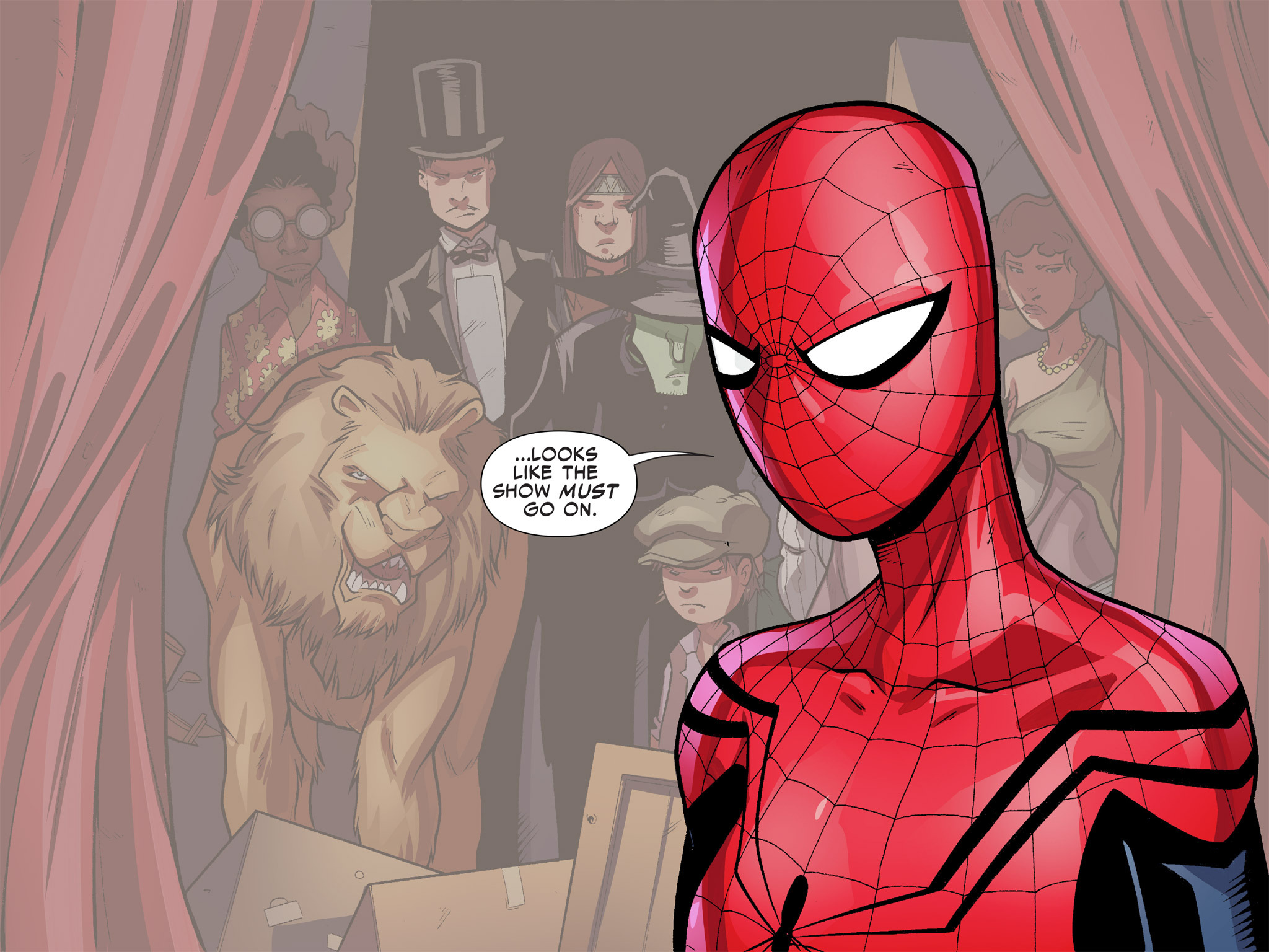 Read online Ultimate Spider-Man (Infinite Comics) (2016) comic -  Issue #9 - 65