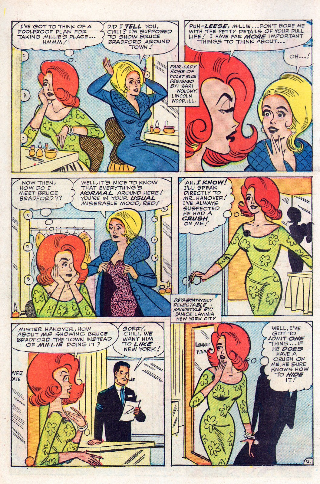 Read online Millie the Model comic -  Issue # Annual 2 - 26