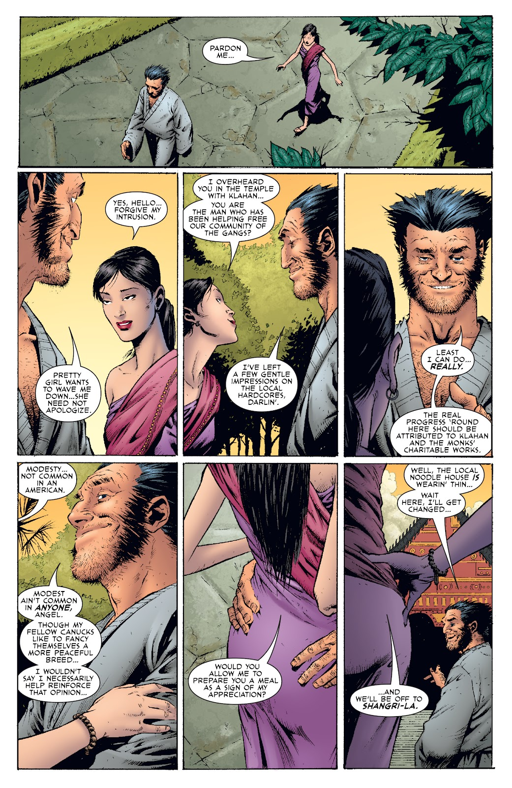 Wolverine: Dangerous Games issue Full - Page 26