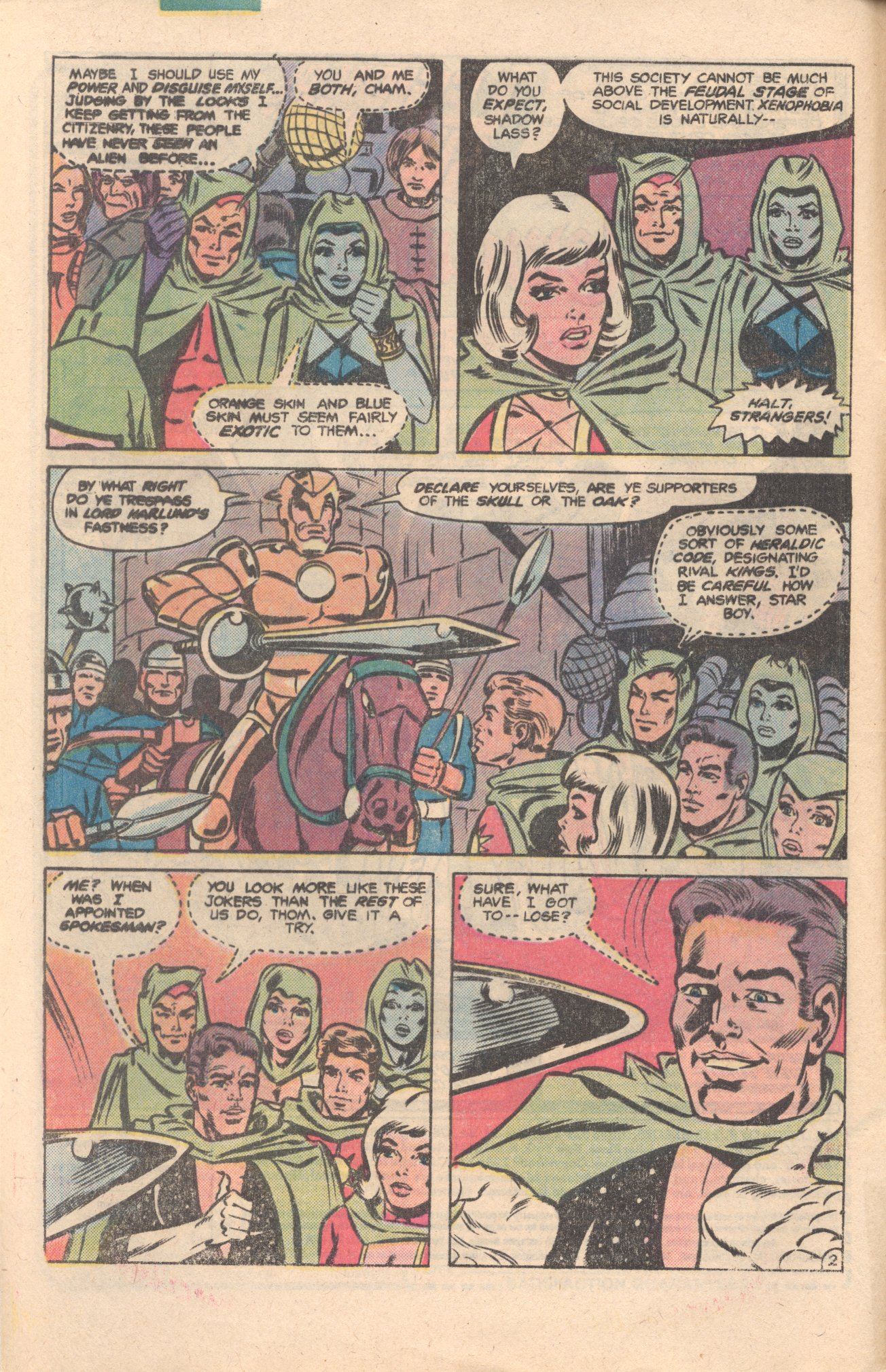 Legion of Super-Heroes (1980) 276 Page 2