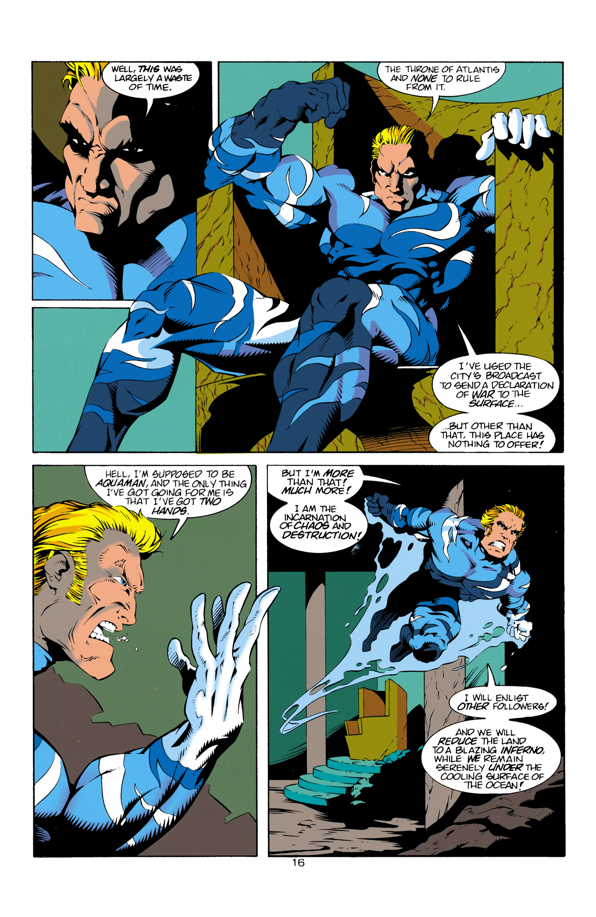 Read online Aquaman (1994) comic -  Issue #14 - 17