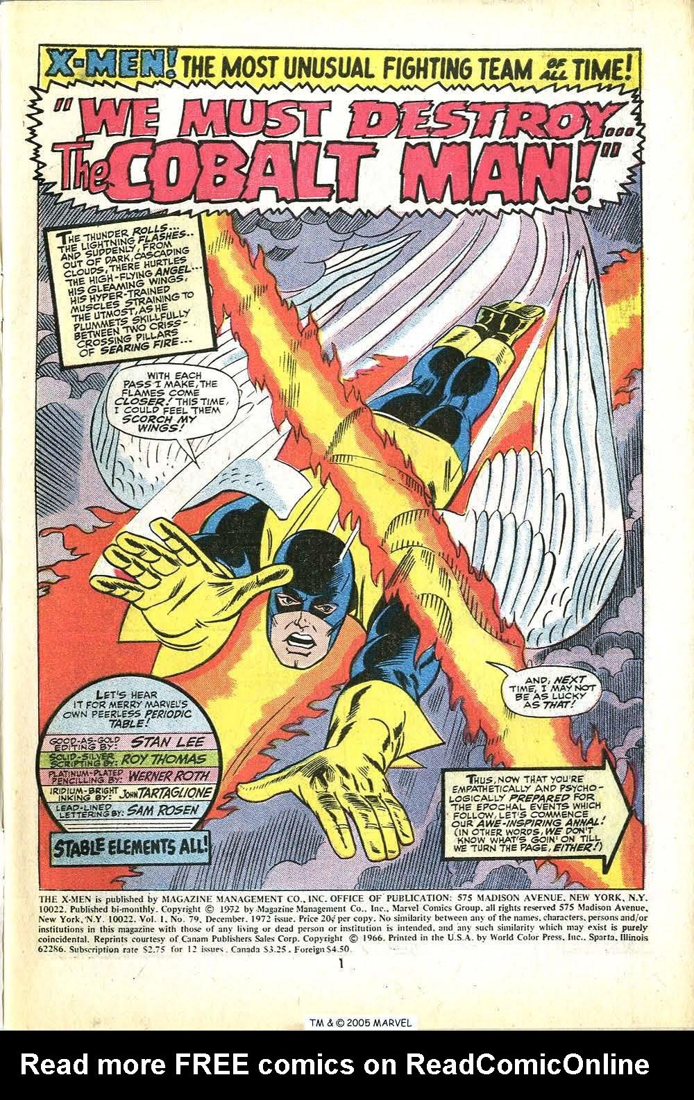 Uncanny X-Men (1963) 79 Page 2