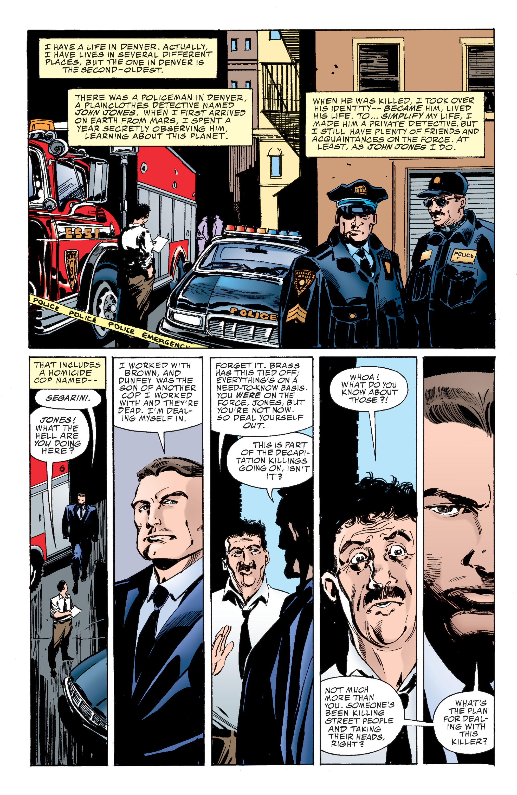 Read online Martian Manhunter: Son of Mars comic -  Issue # TPB - 35