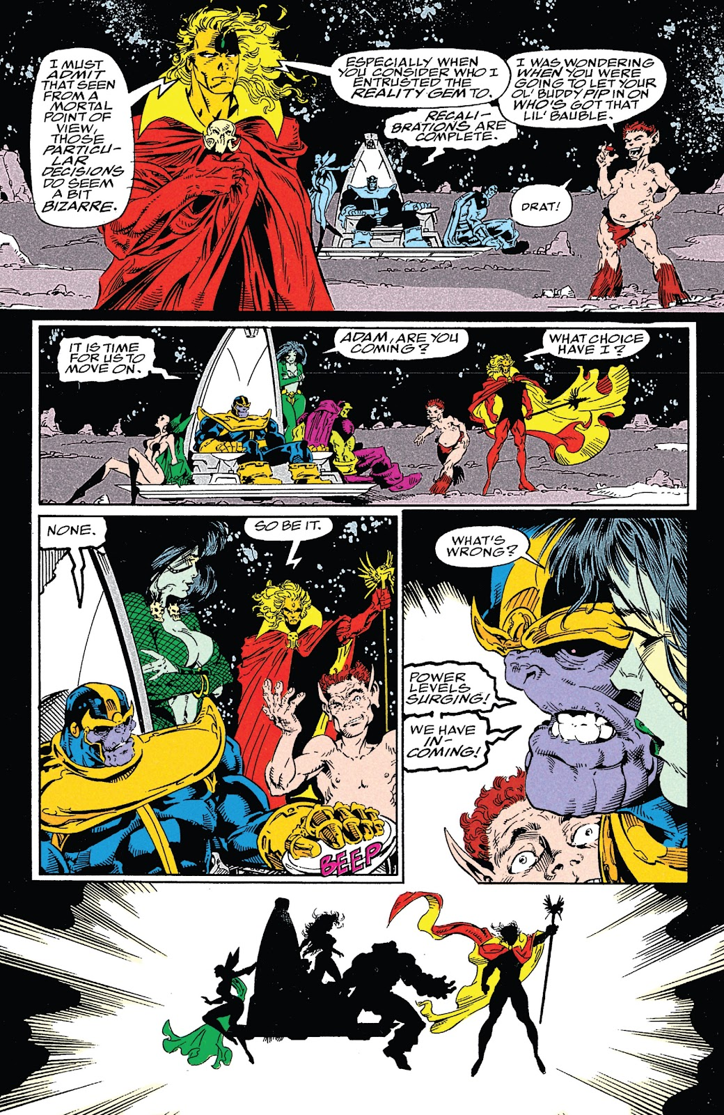 Read online Marvel Tales: Thanos comic -  Issue # Full - 68