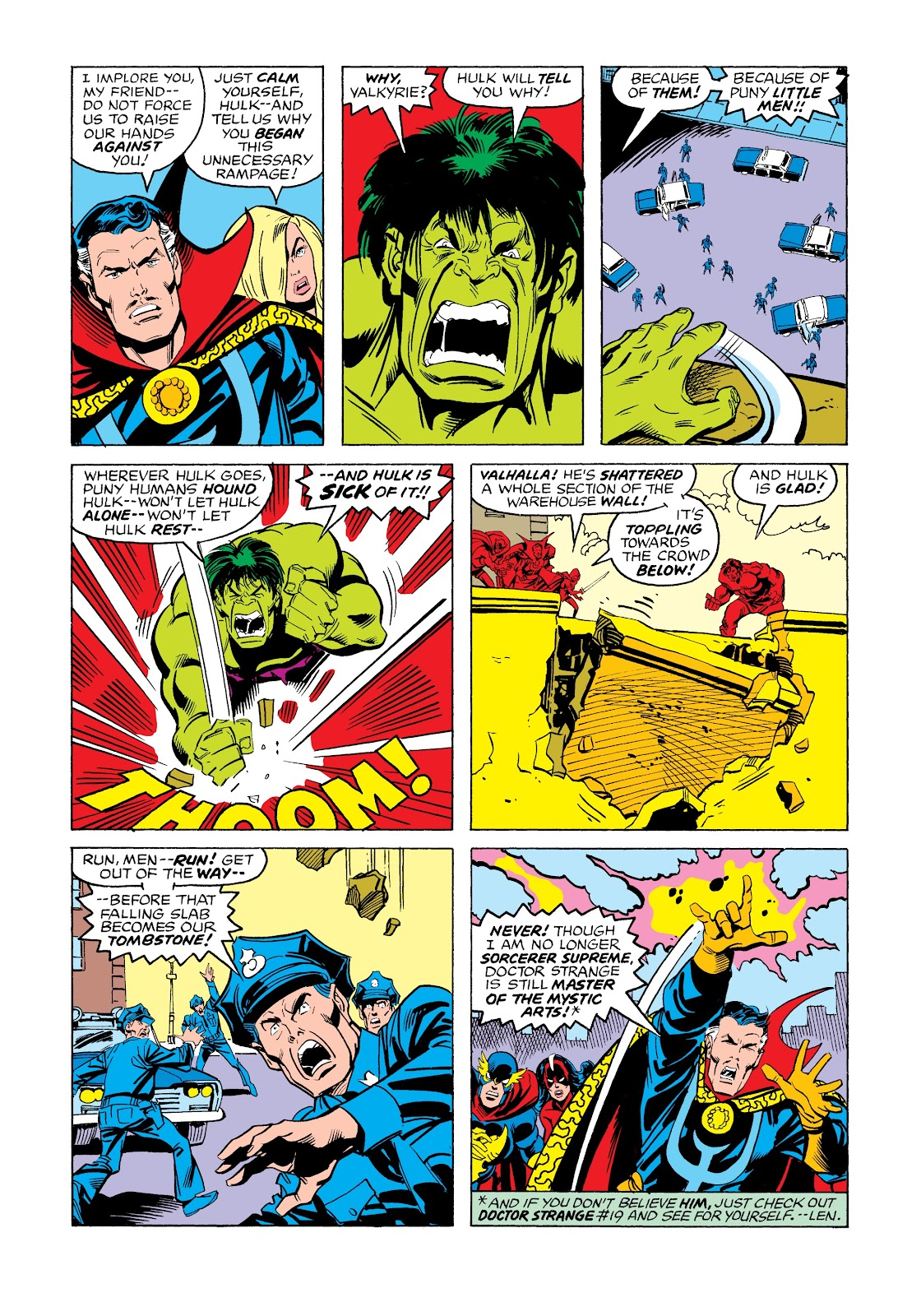 Read online Marvel Masterworks: The Incredible Hulk comic -  Issue # TPB 12 (Part 3) - 30