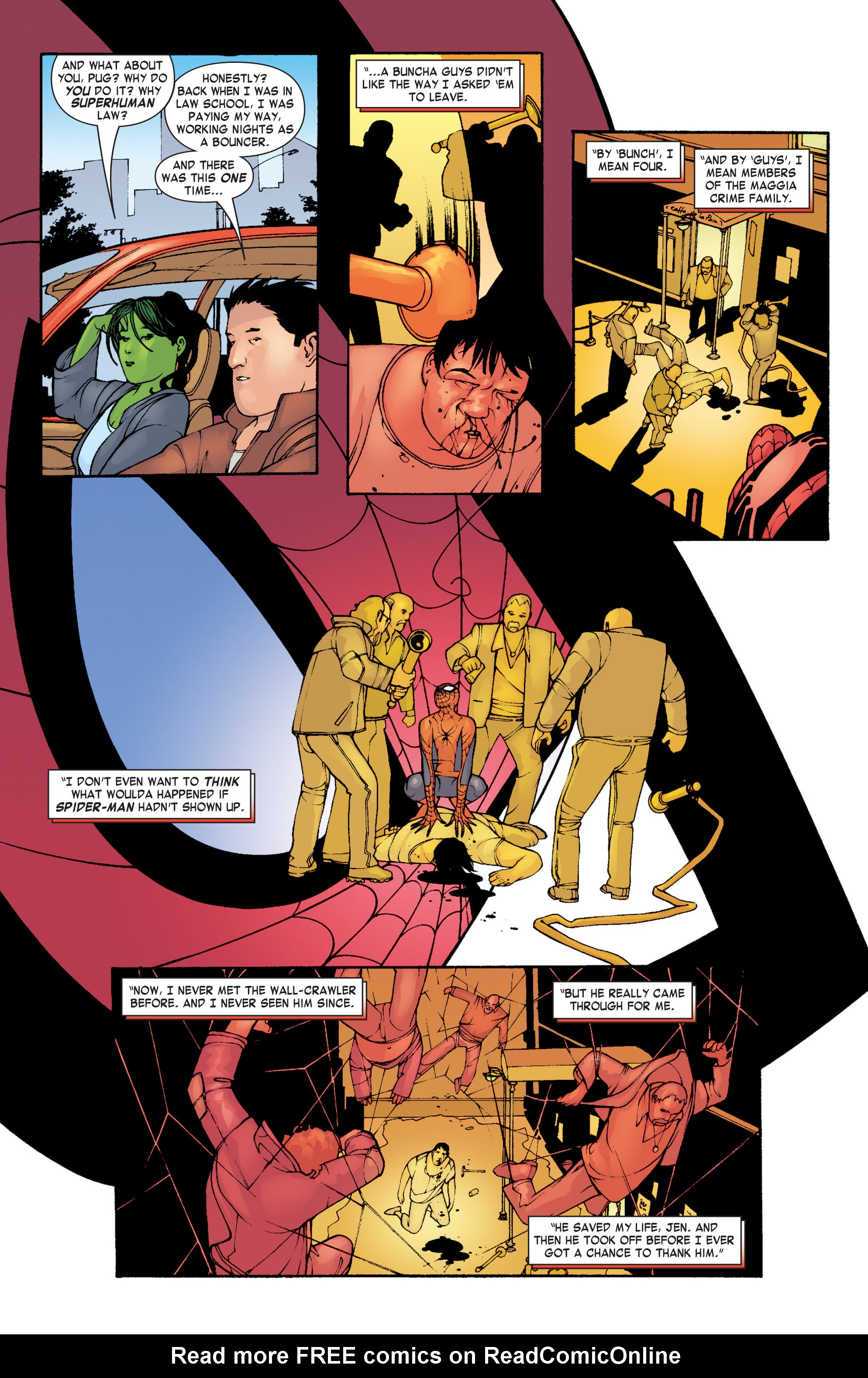 Read online She-Hulk (2004) comic -  Issue #3 - 10