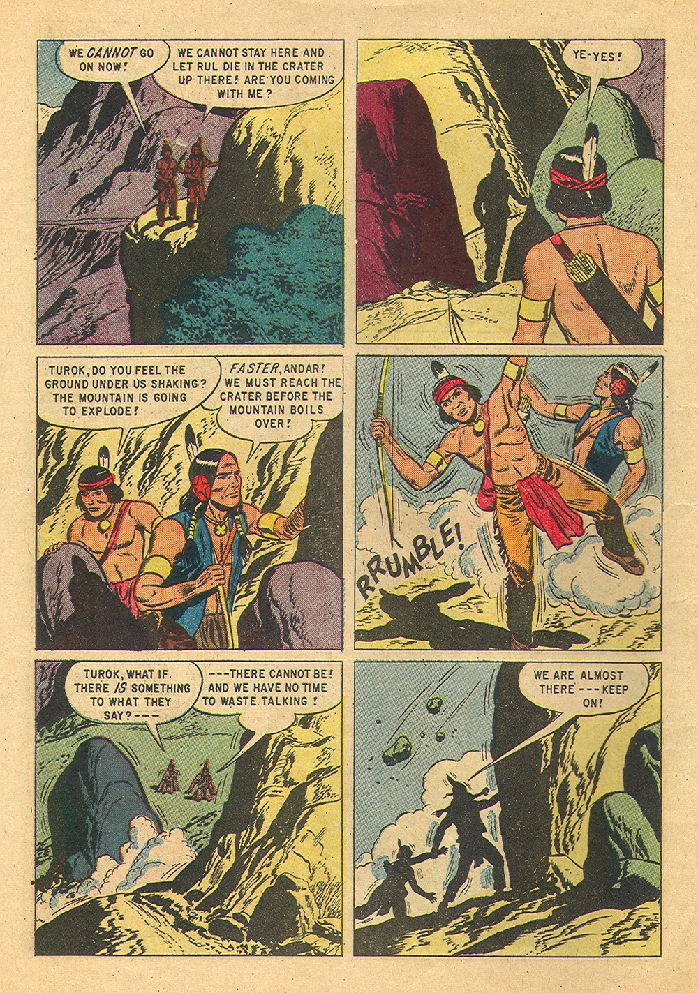 Read online Turok, Son of Stone comic -  Issue #36 - 10