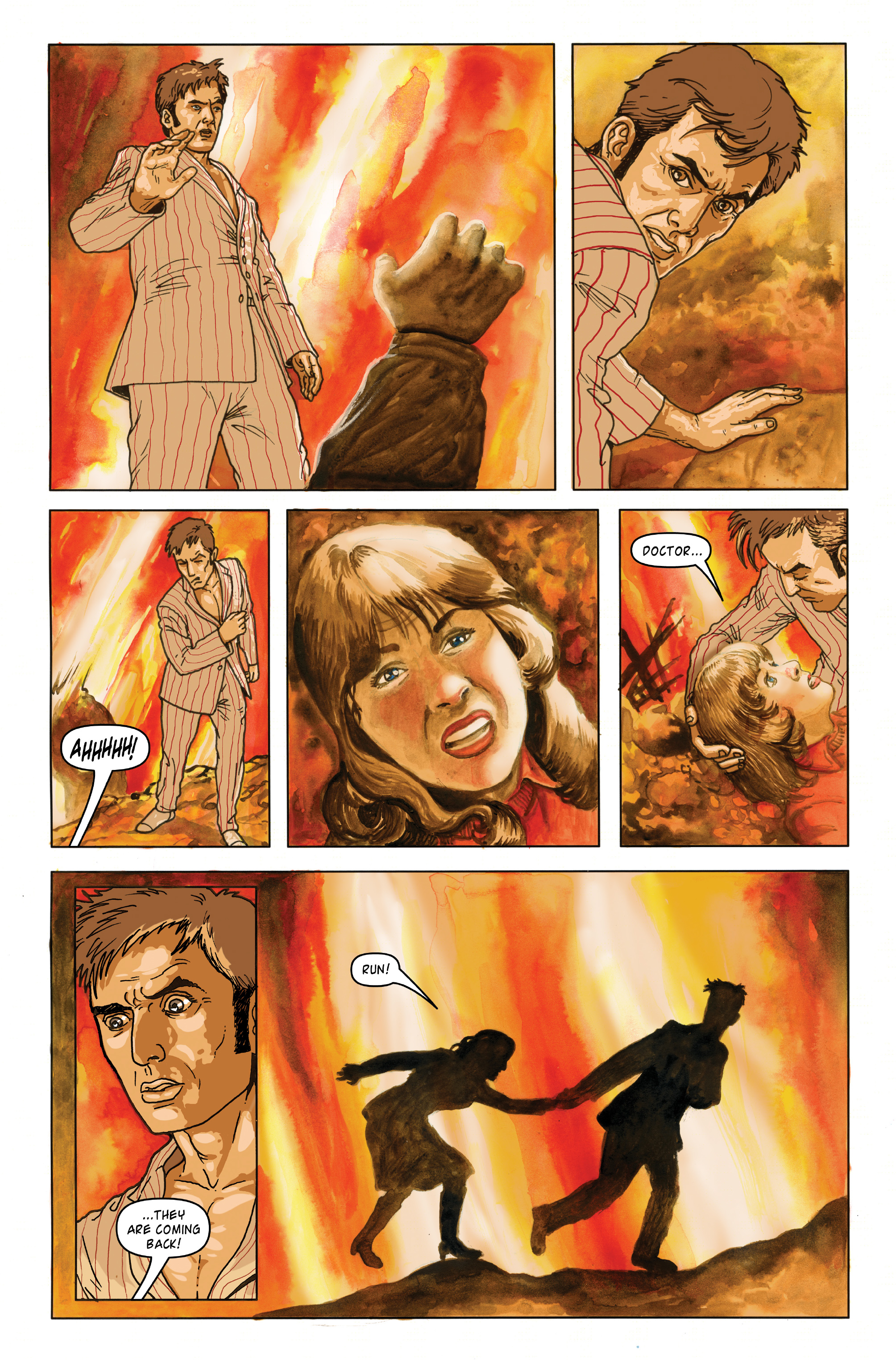 Read online Doctor Who: The Tenth Doctor Archives comic -  Issue #35 - 40