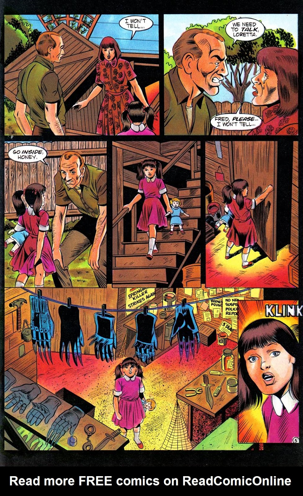 Read online Freddy's Dead: The Final Nightmare comic -  Issue #3 - 7