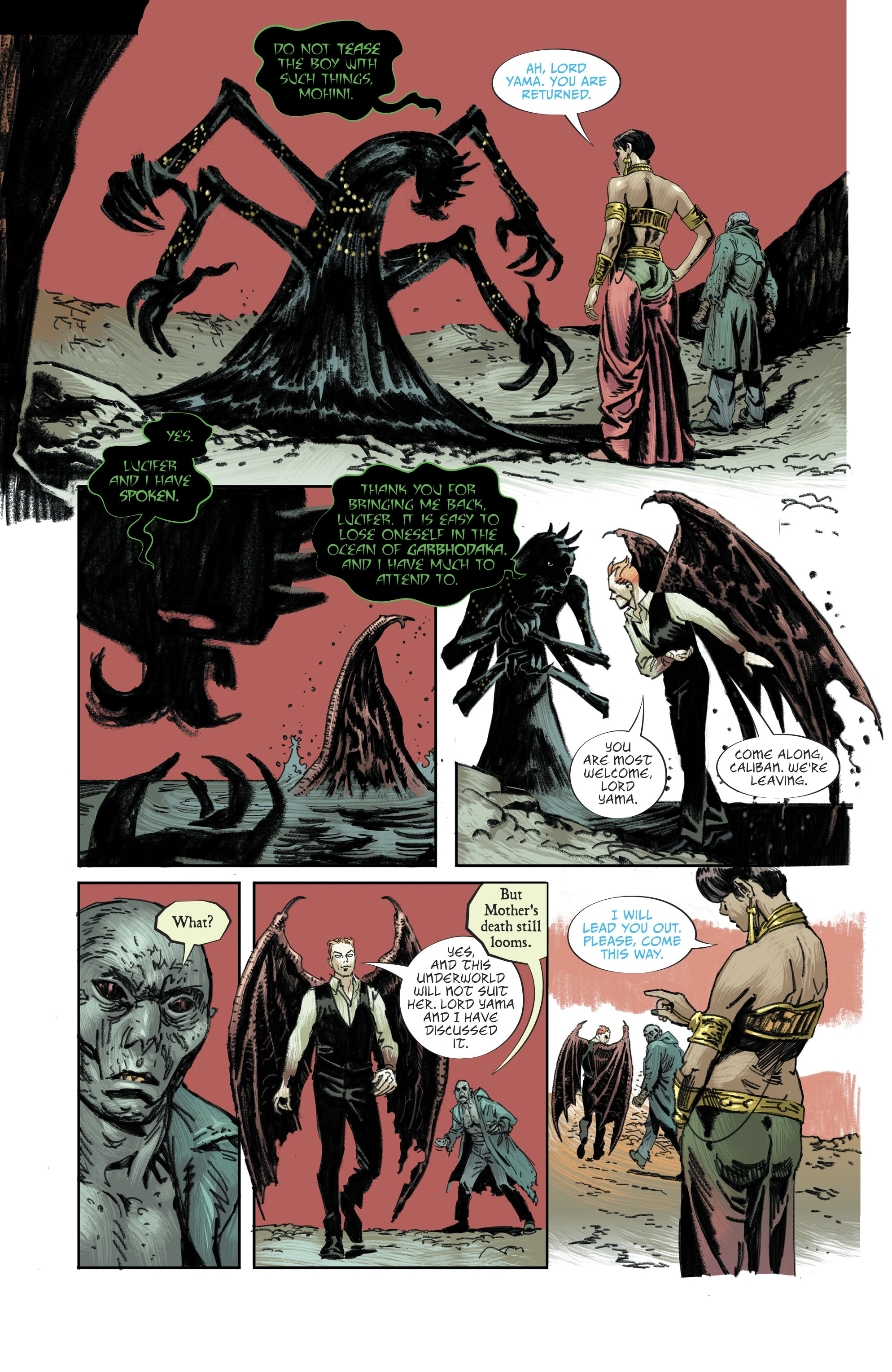 Read online Lucifer (2018) comic -  Issue #11 - 5