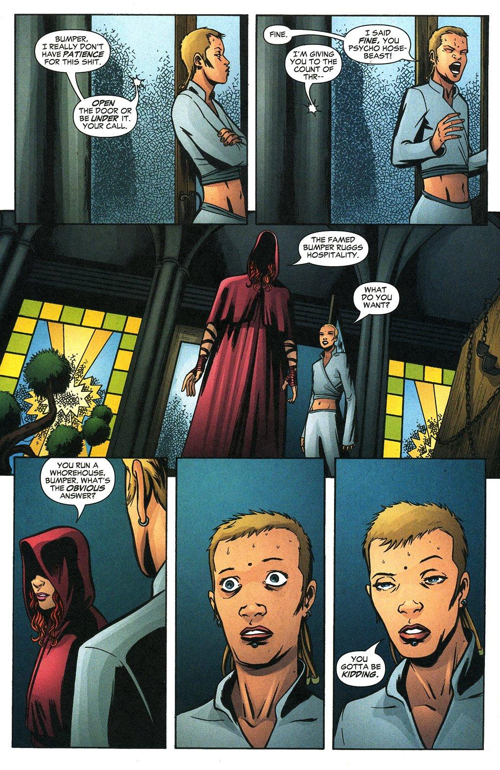 Read online Fallen Angel (2003) comic -  Issue #19 - 16