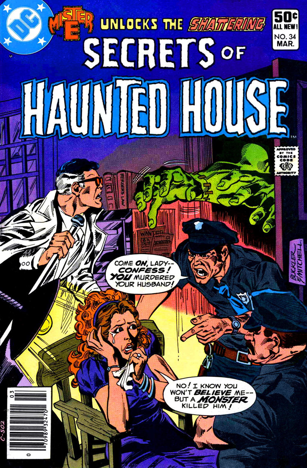 Read online Secrets of Haunted House comic -  Issue #34 - 1